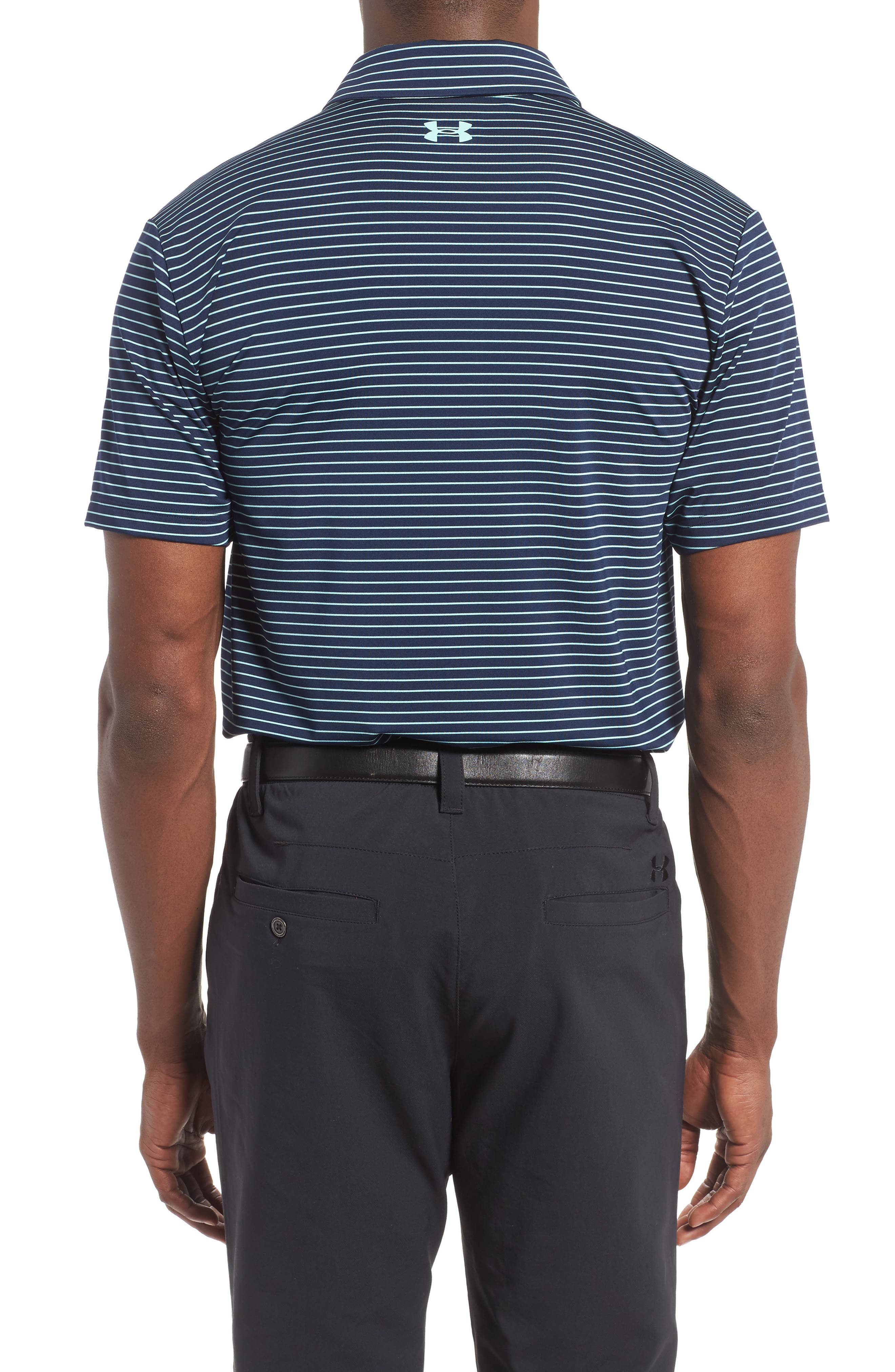 'Playoff' Loose Fit Short Sleeve Polo,                             Alternate thumbnail 92, color,