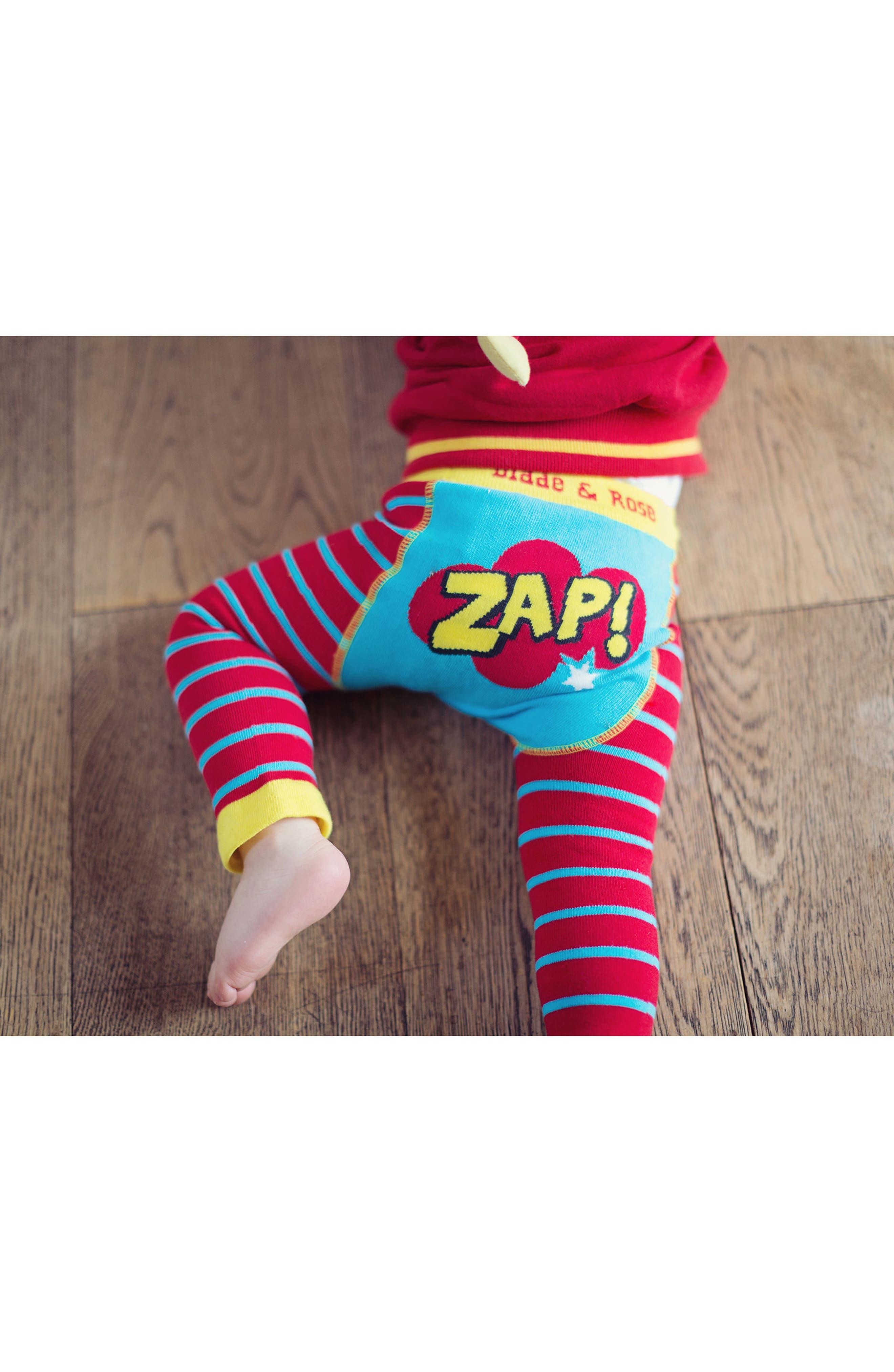 Zap Leggings,                             Alternate thumbnail 3, color,                             600