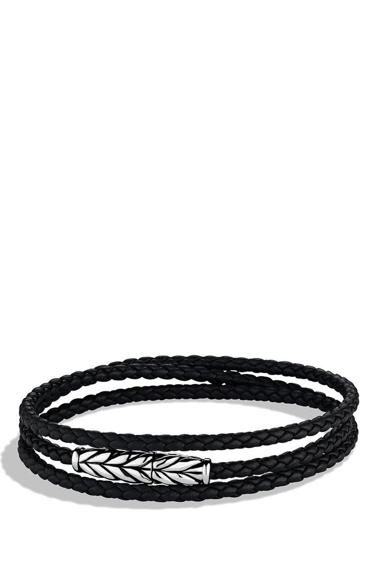 Chevron Triple Wrap Bracelet