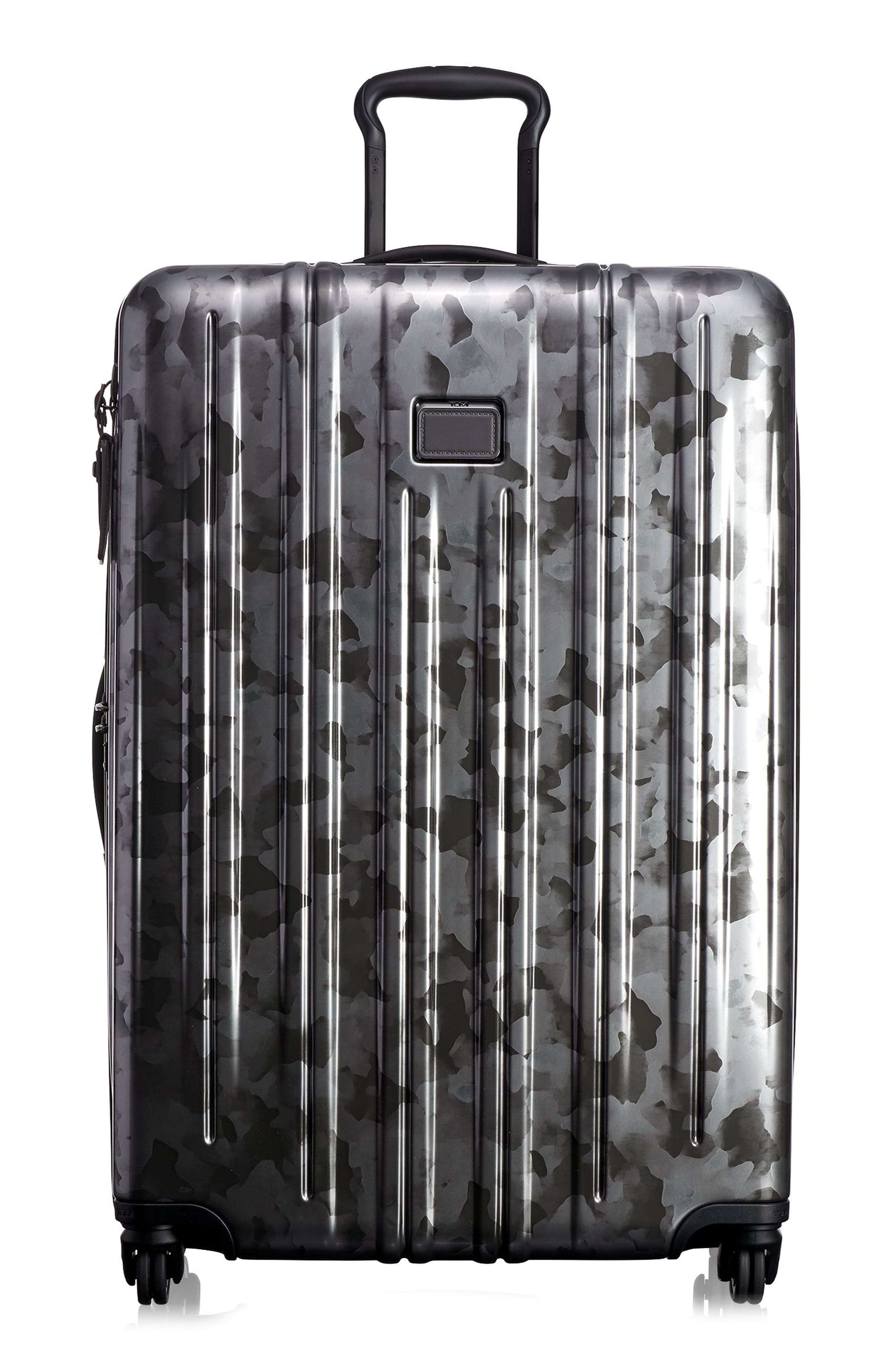 V3 31-Inch Extended Trip Spinner Packing Case,                             Main thumbnail 1, color,                             GALVANIZED SILVER