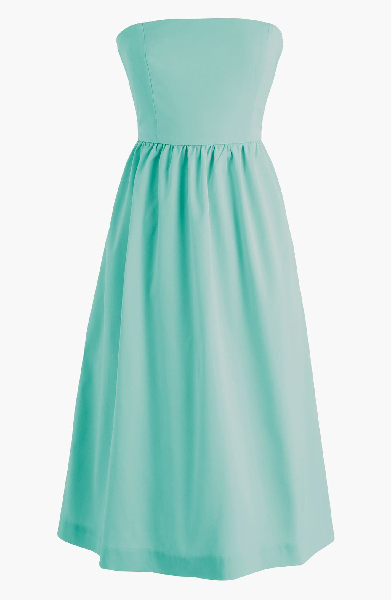 Strapless Fit & Flare Dress,                             Main thumbnail 1, color,                             400