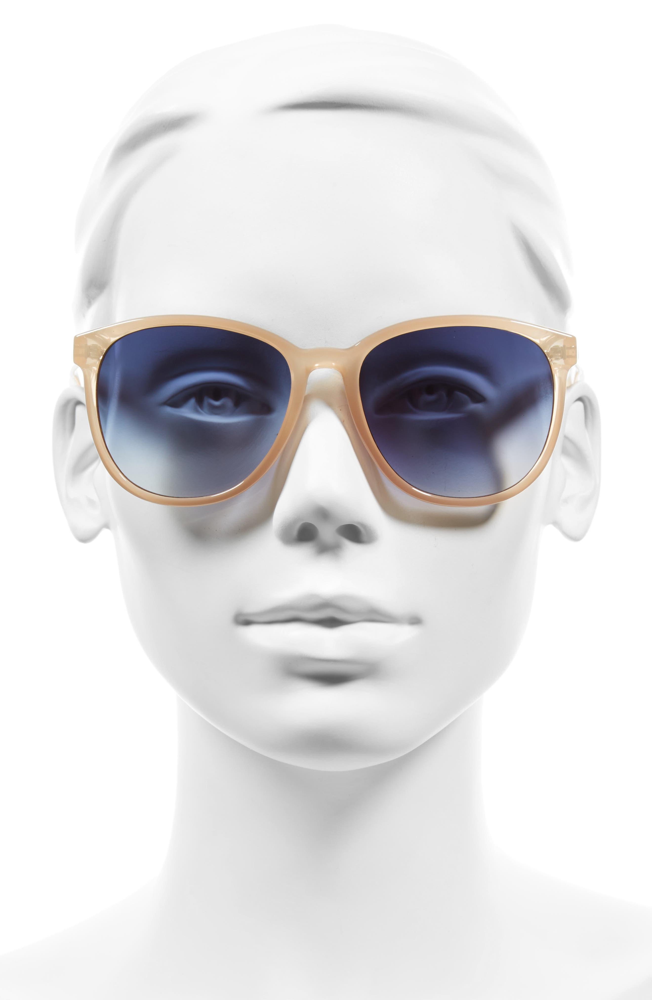 D'BLANC Afternoon Delight 56mm Gradient Lens Sunglasses,                             Alternate thumbnail 2, color,                             SPUMANTE OPAL/ GRADIENT