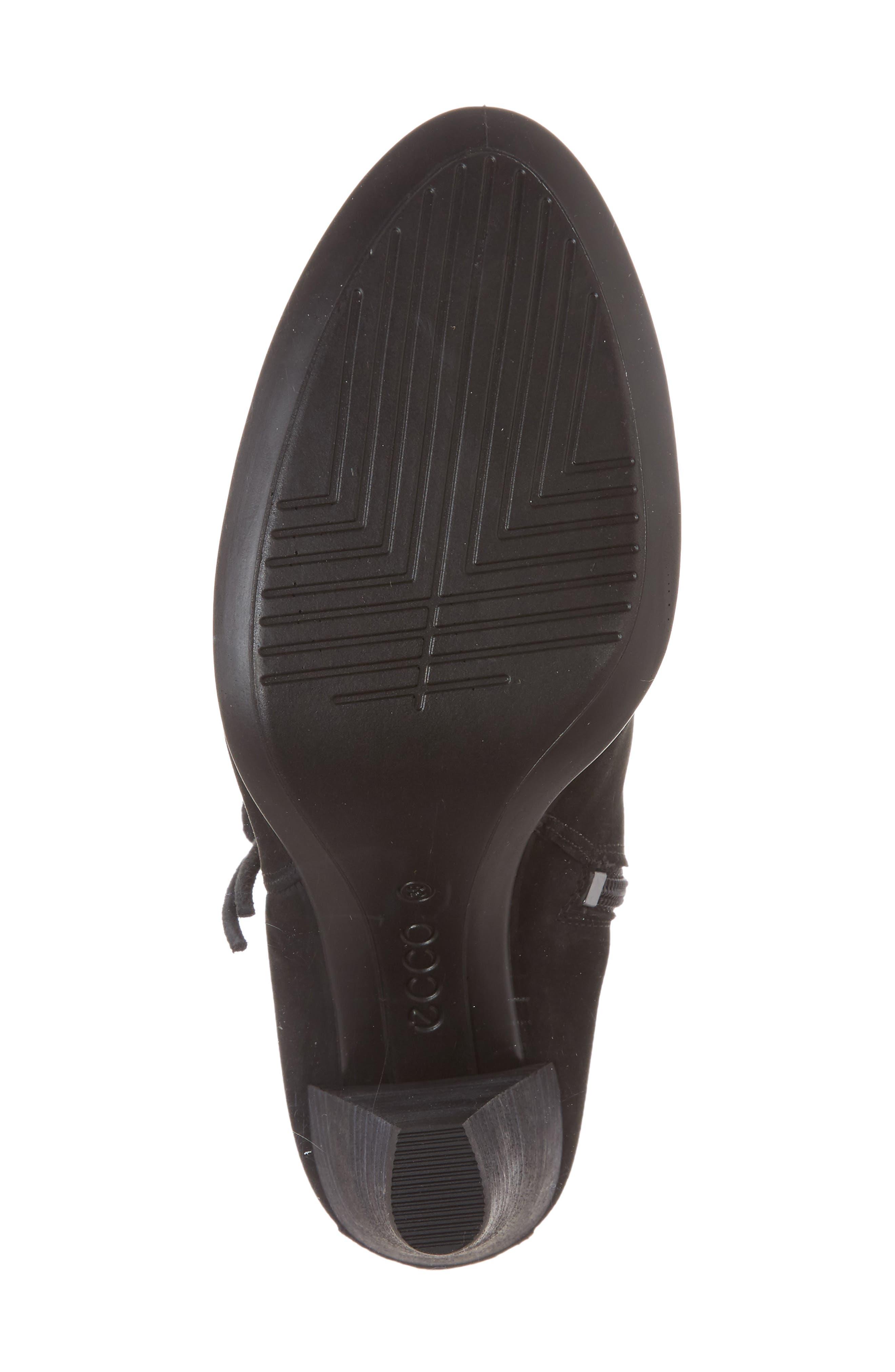 Shape 75 Tassel Boot,                             Alternate thumbnail 6, color,                             001