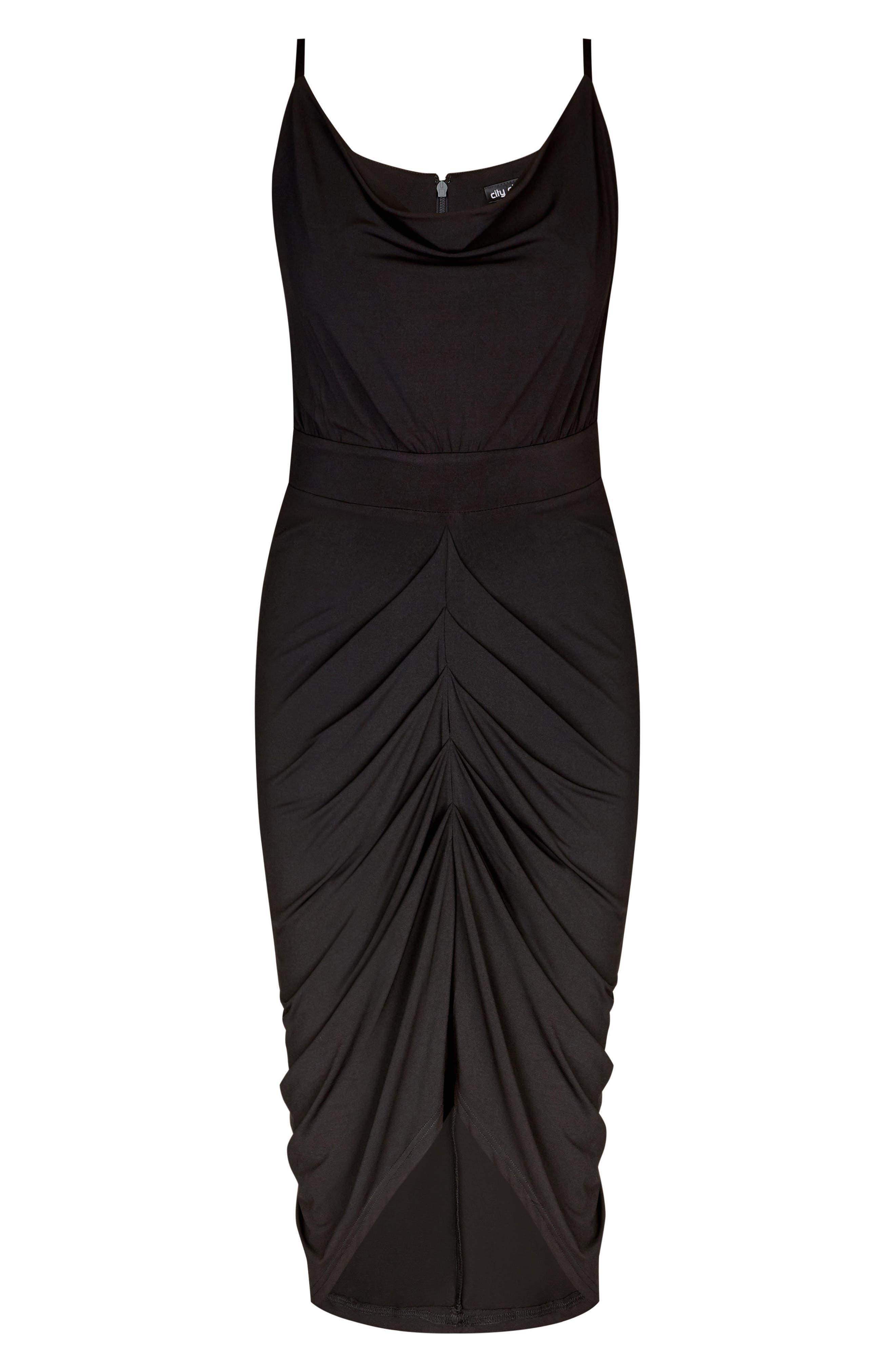 Temptress Dress,                             Alternate thumbnail 3, color,                             BLACK