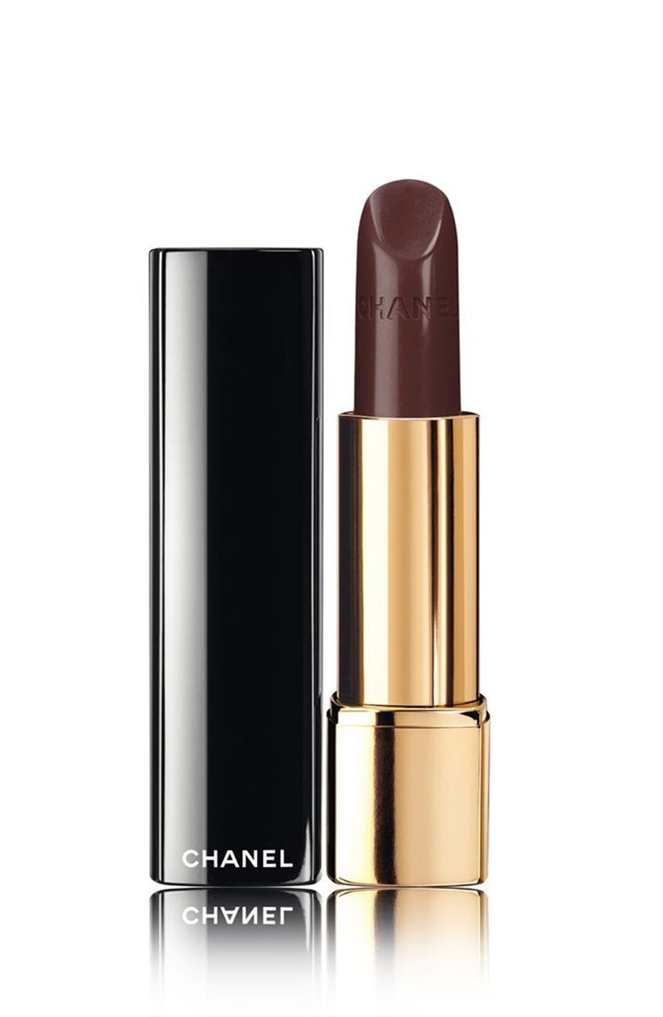 CHANEL,                             ROUGE ALLURE<br />Luminous Intense Lip Colour,                             Main thumbnail 1, color,                             189 INCOGNITO