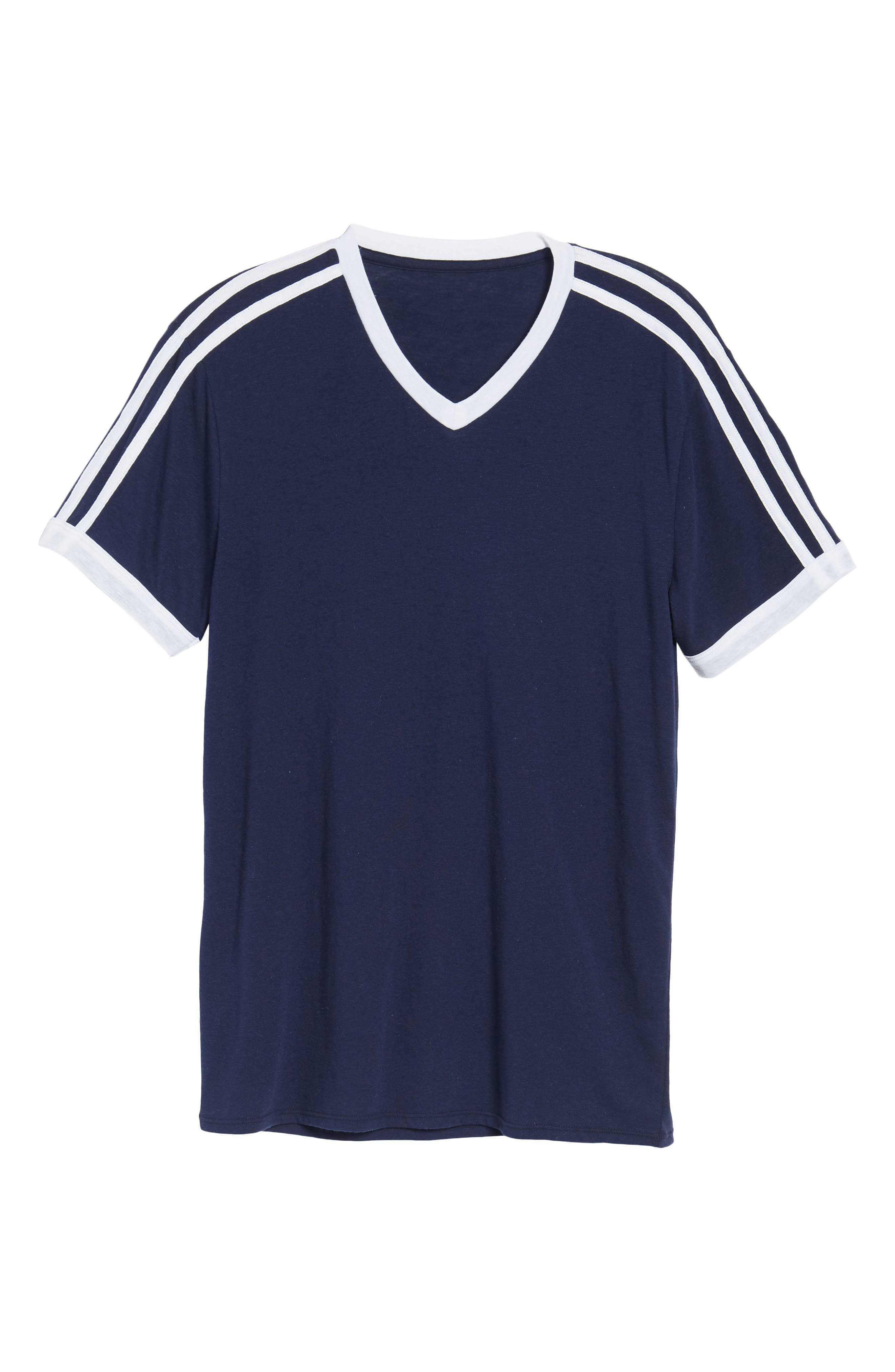 Vintage Athletic V-Neck T-Shirt,                             Alternate thumbnail 6, color,                             410