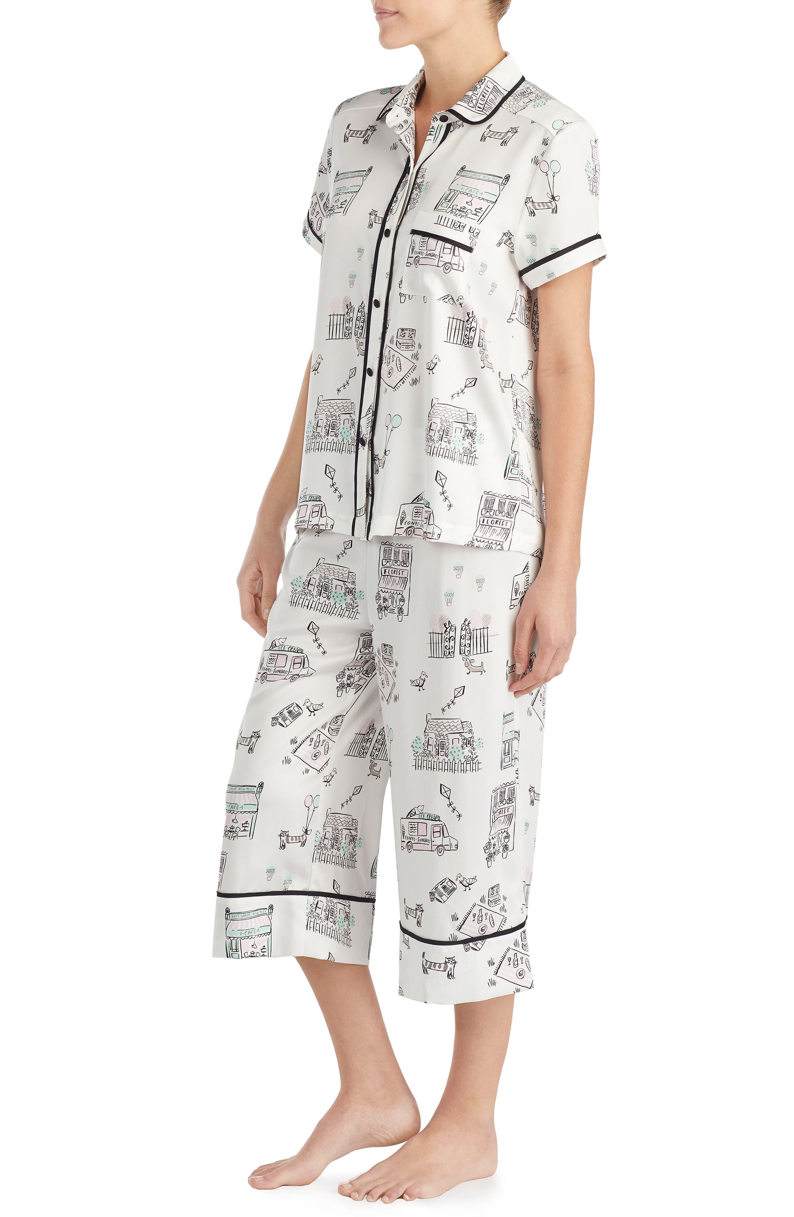 capri pajamas,                             Alternate thumbnail 5, color,