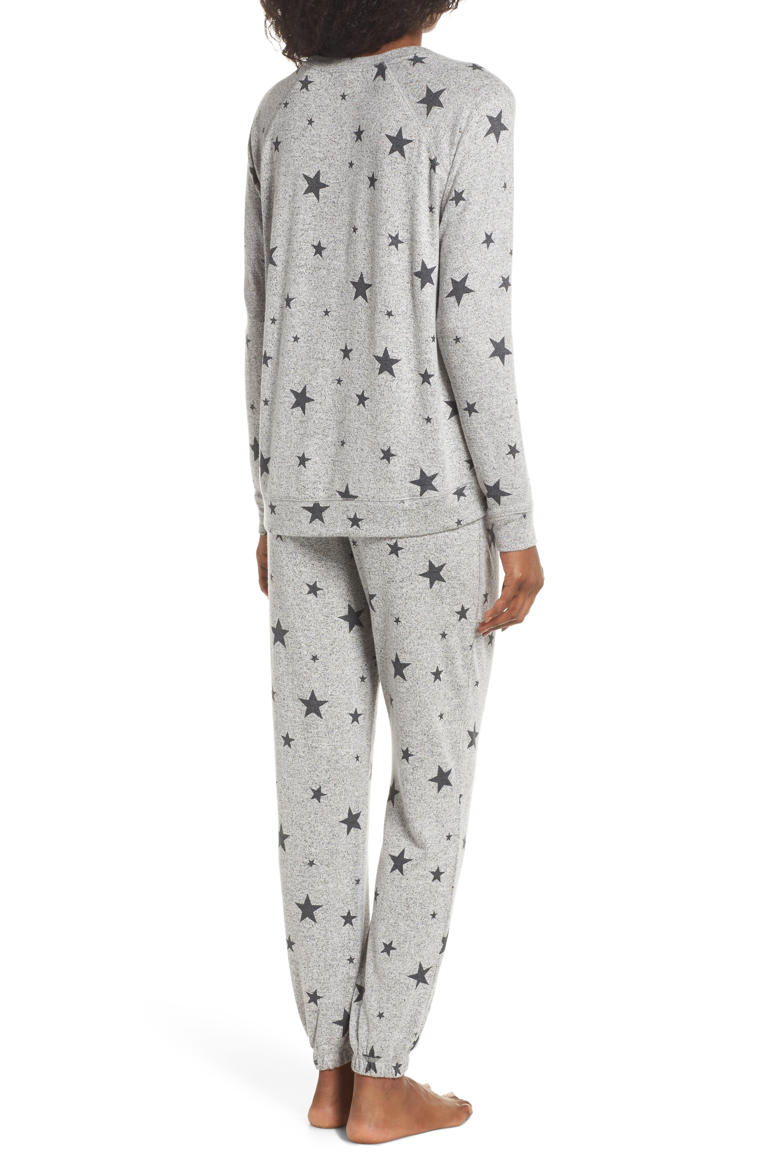 Just Peachy Jogger Pajamas,                             Alternate thumbnail 2, color,                             007