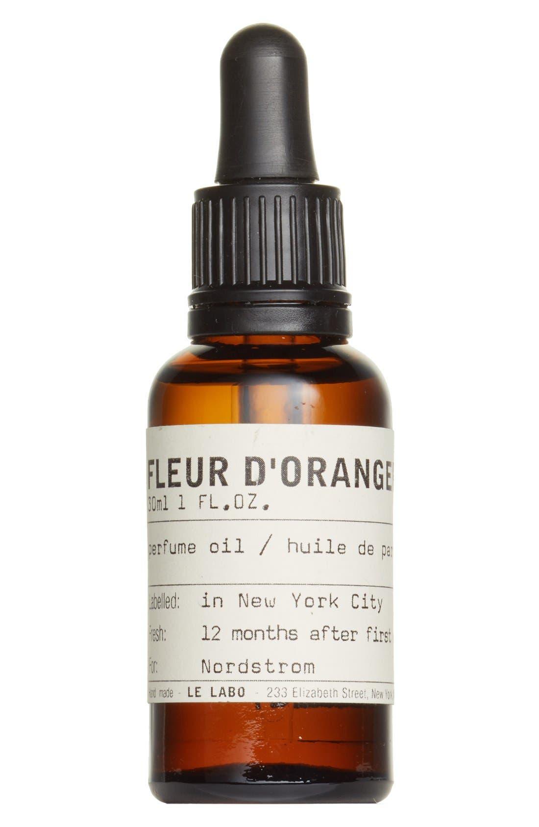 'Fleur d'Oranger 27' Perfume Oil,                             Main thumbnail 1, color,                             NO COLOR