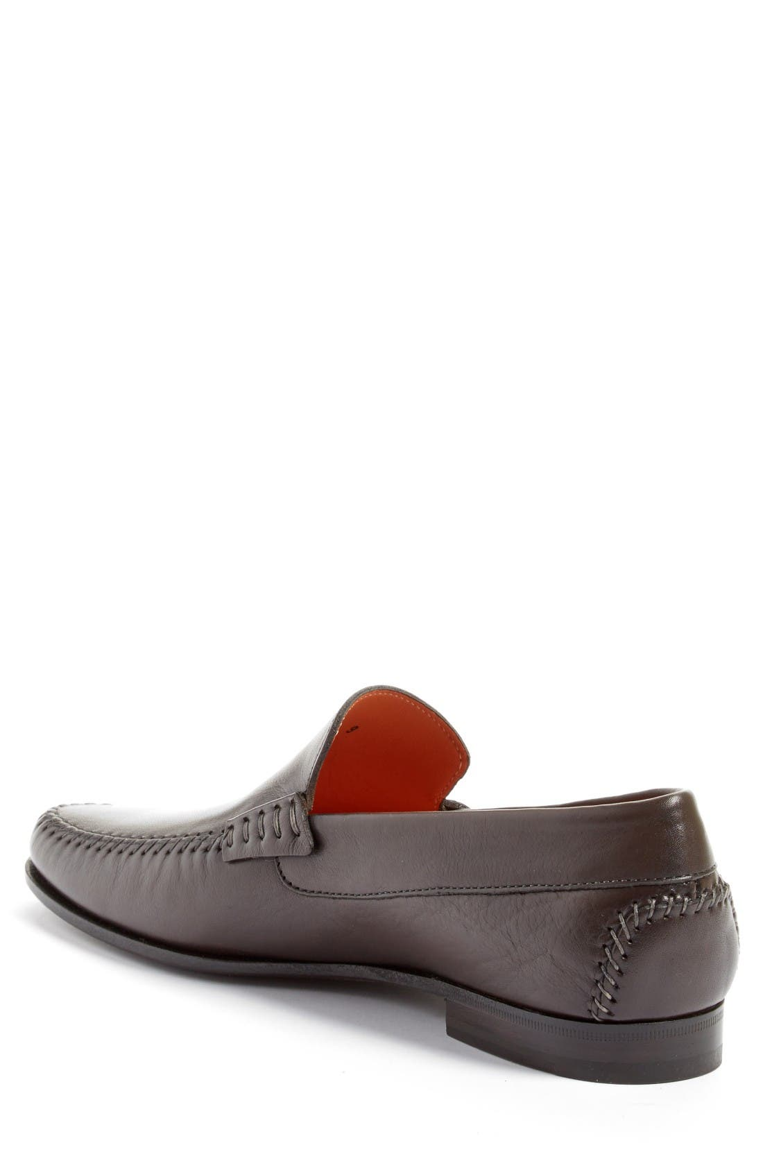 'Auburn' Venetian Loafer,                             Alternate thumbnail 4, color,