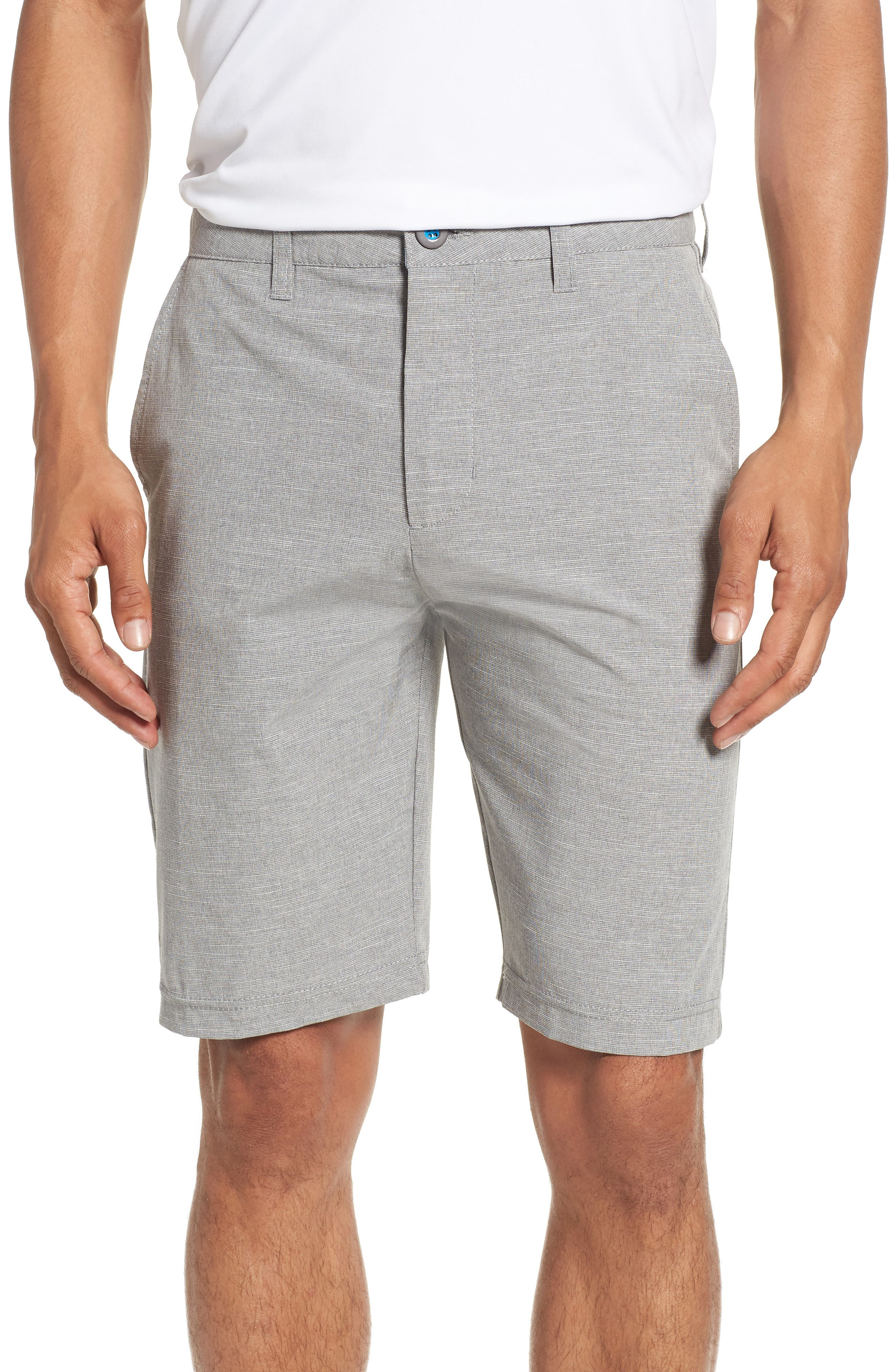 DEVEREUX Cruiser Hybrid Shorts, Main, color, STEEL