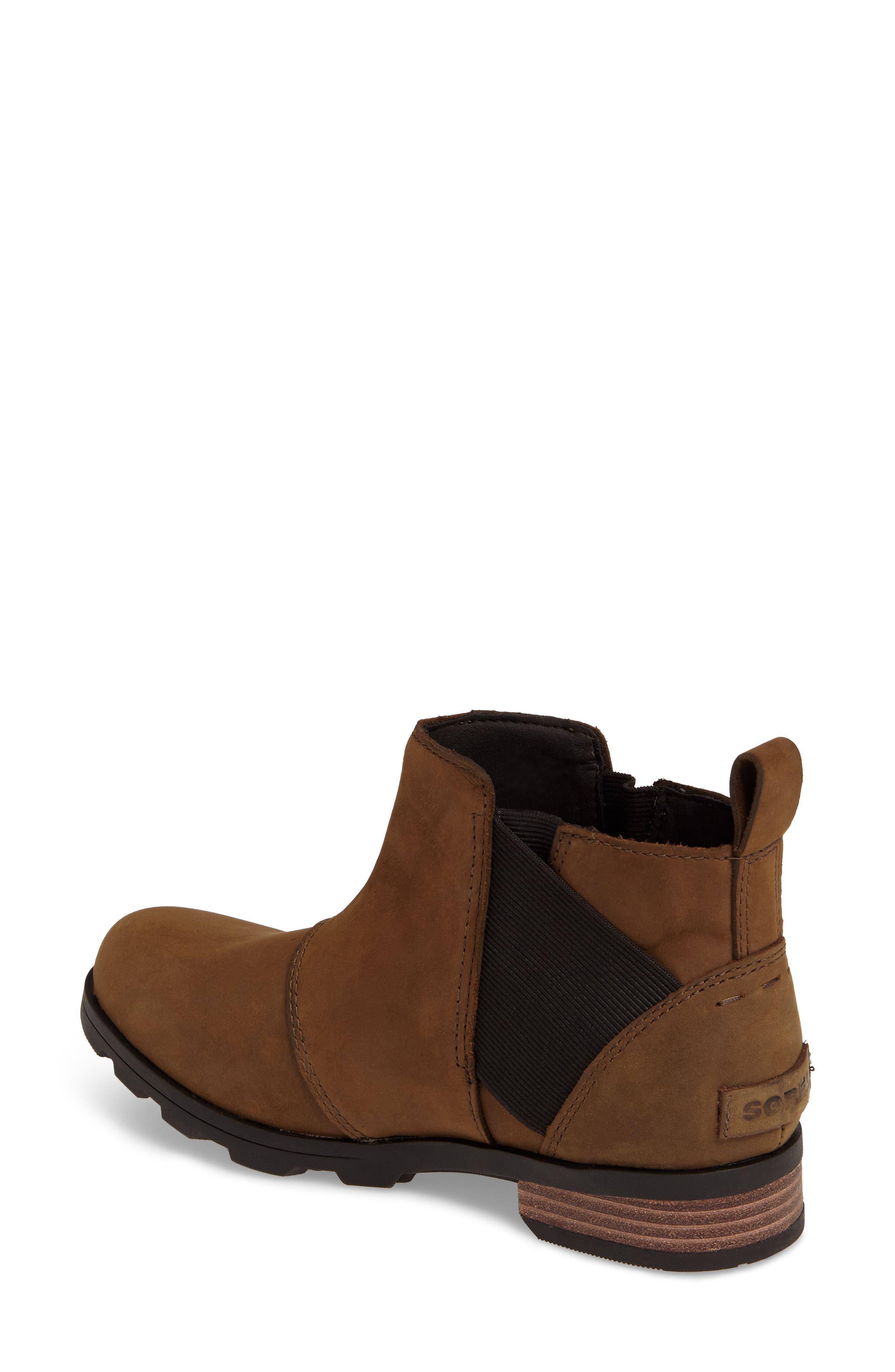 Emelie Waterproof Chelsea Boot,                             Alternate thumbnail 8, color,