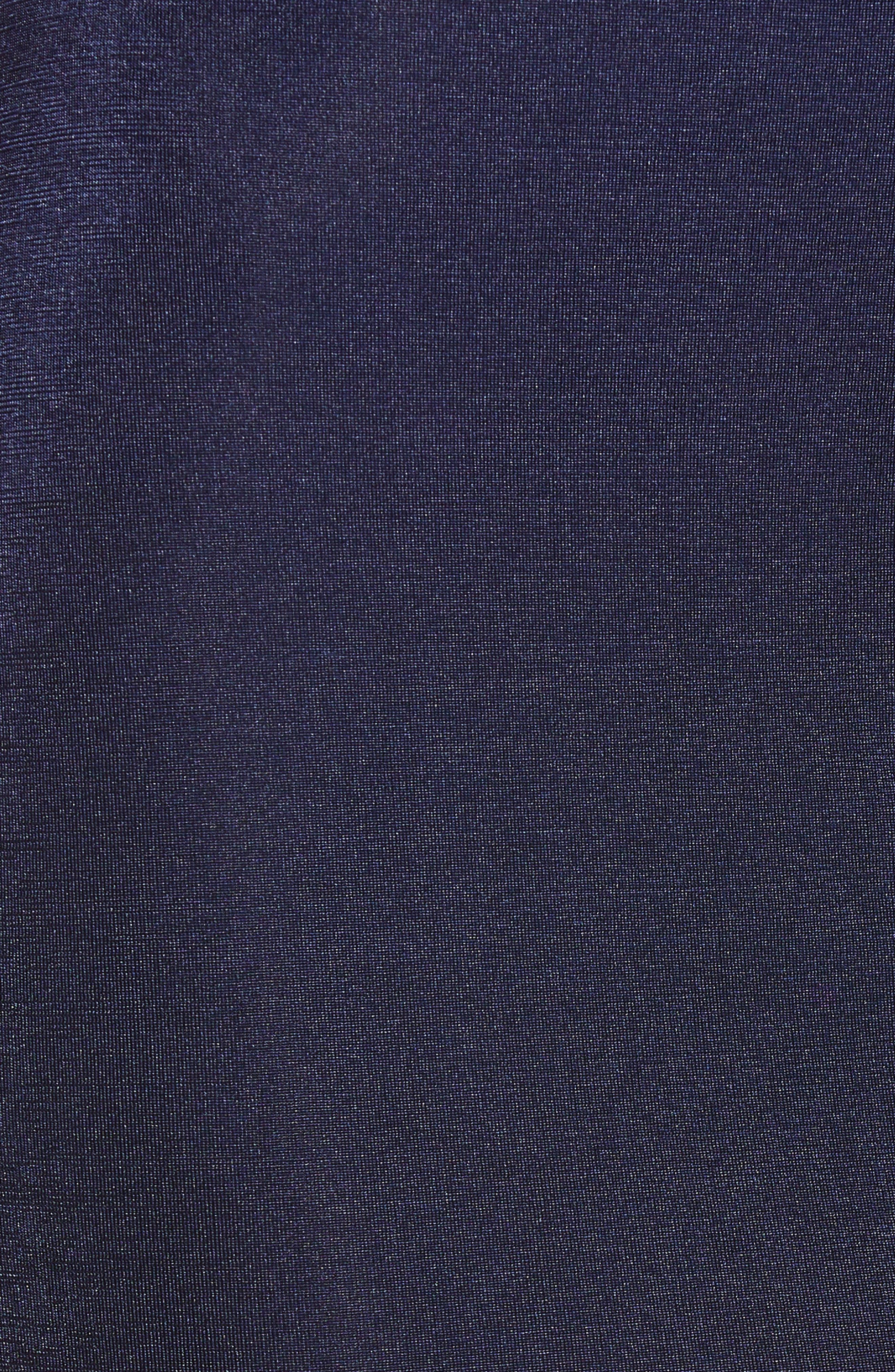 Cowl Neck Minidress,                             Alternate thumbnail 6, color,                             NAVY