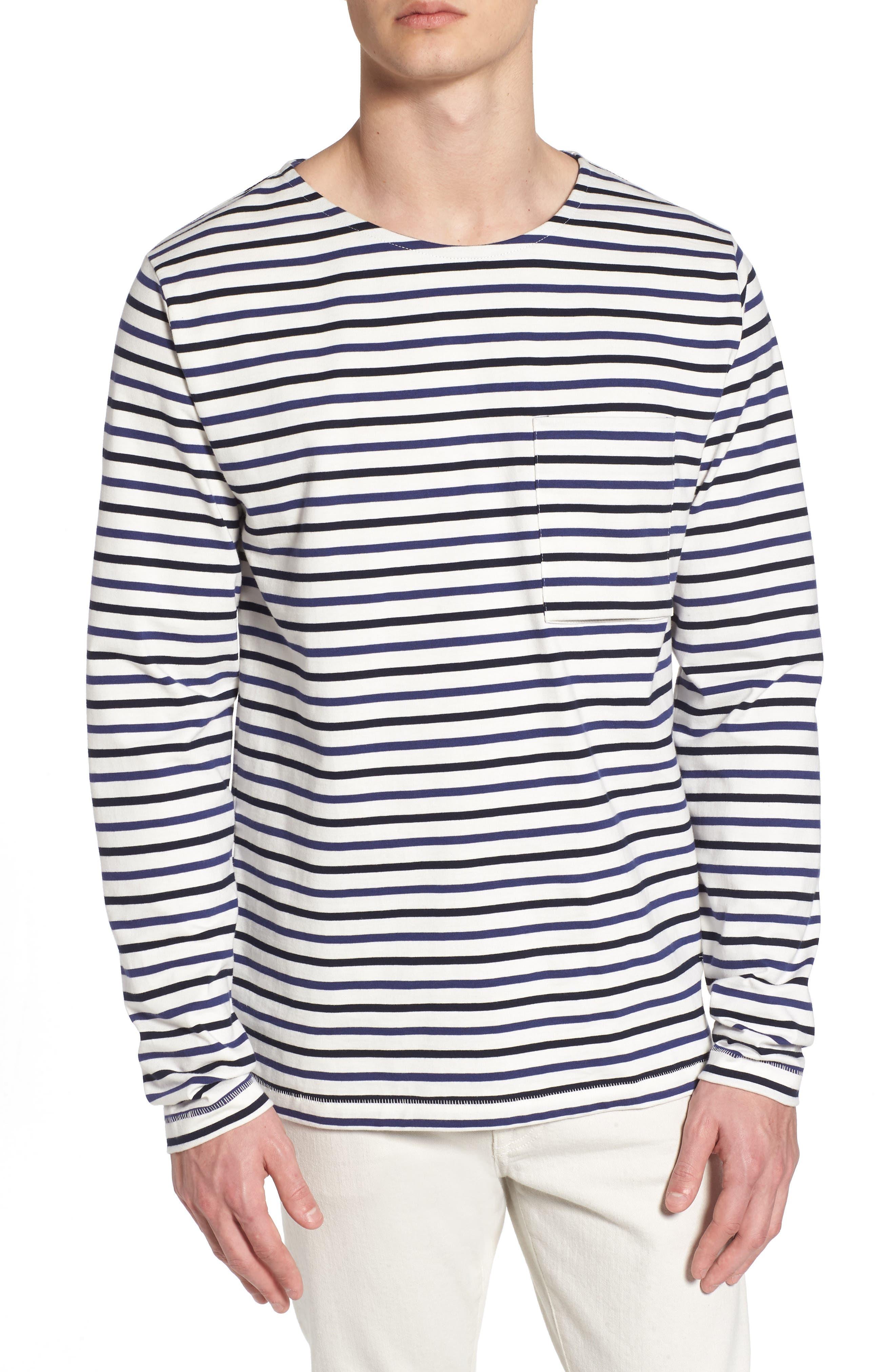 Slim Fit Franstripe Shirt,                             Main thumbnail 1, color,                             410