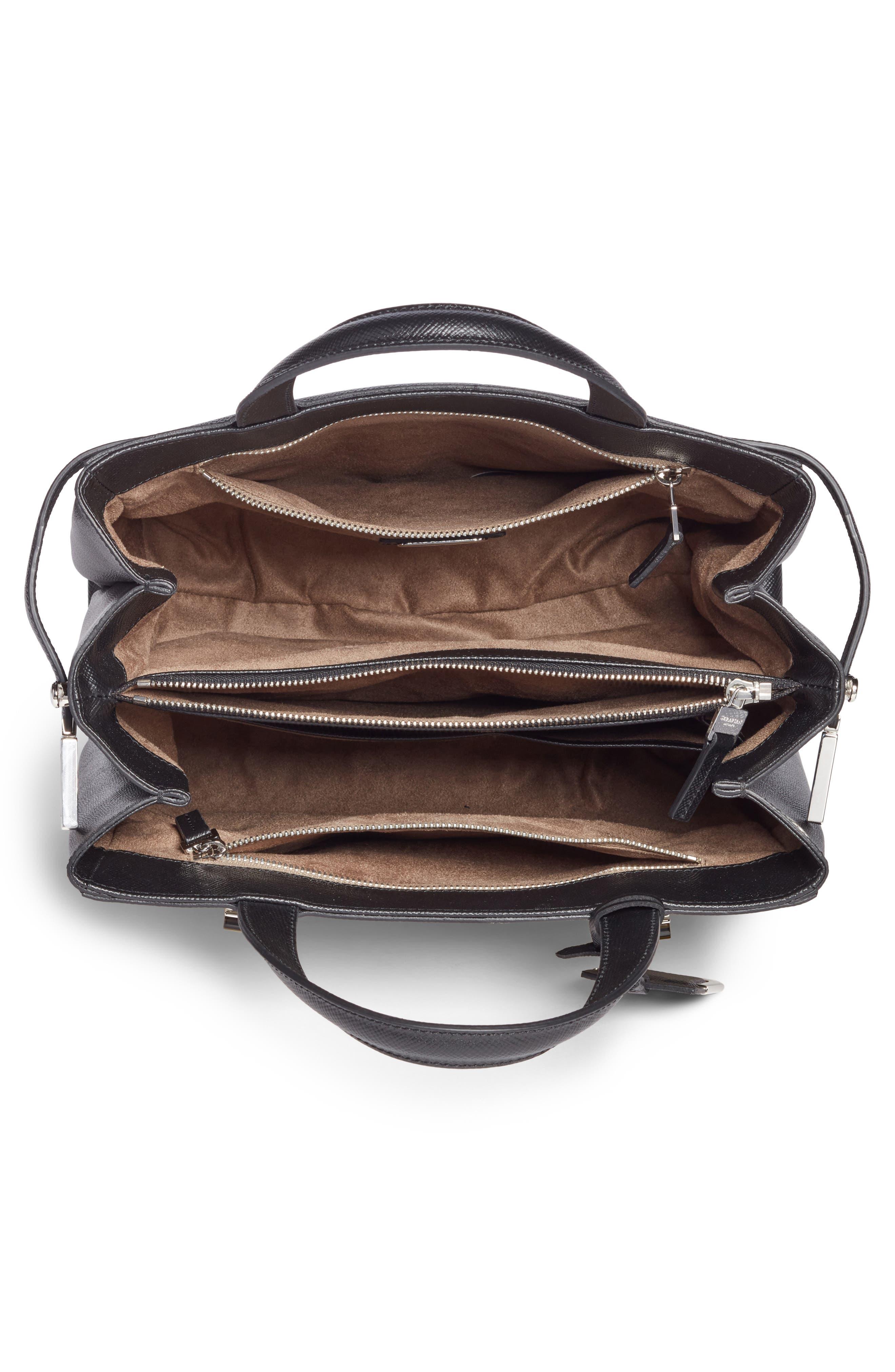 Small Meline Evolution Leather Bag,                             Alternate thumbnail 14, color,