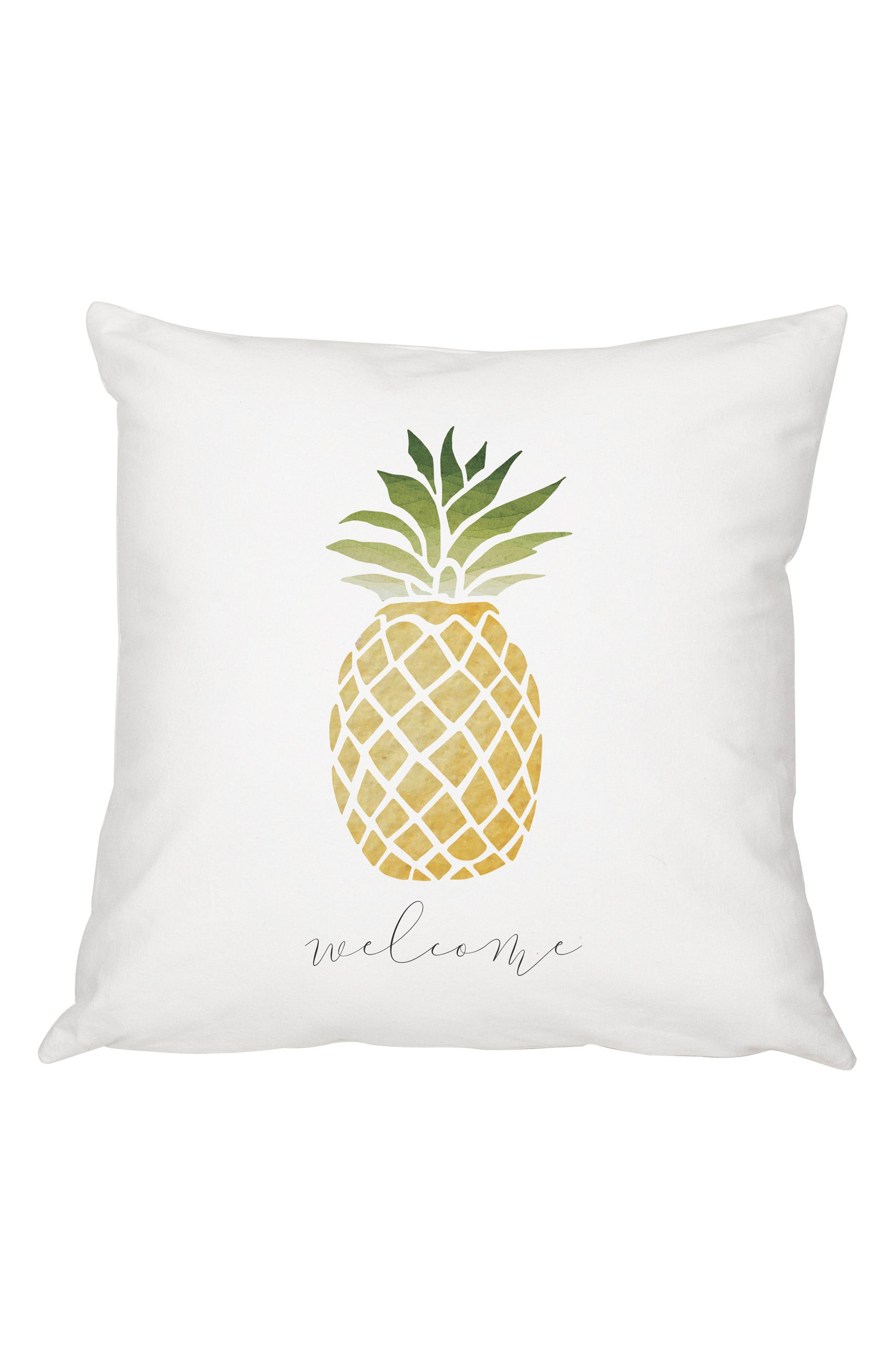 Pineapple Accent Pillow,                         Main,                         color, 100