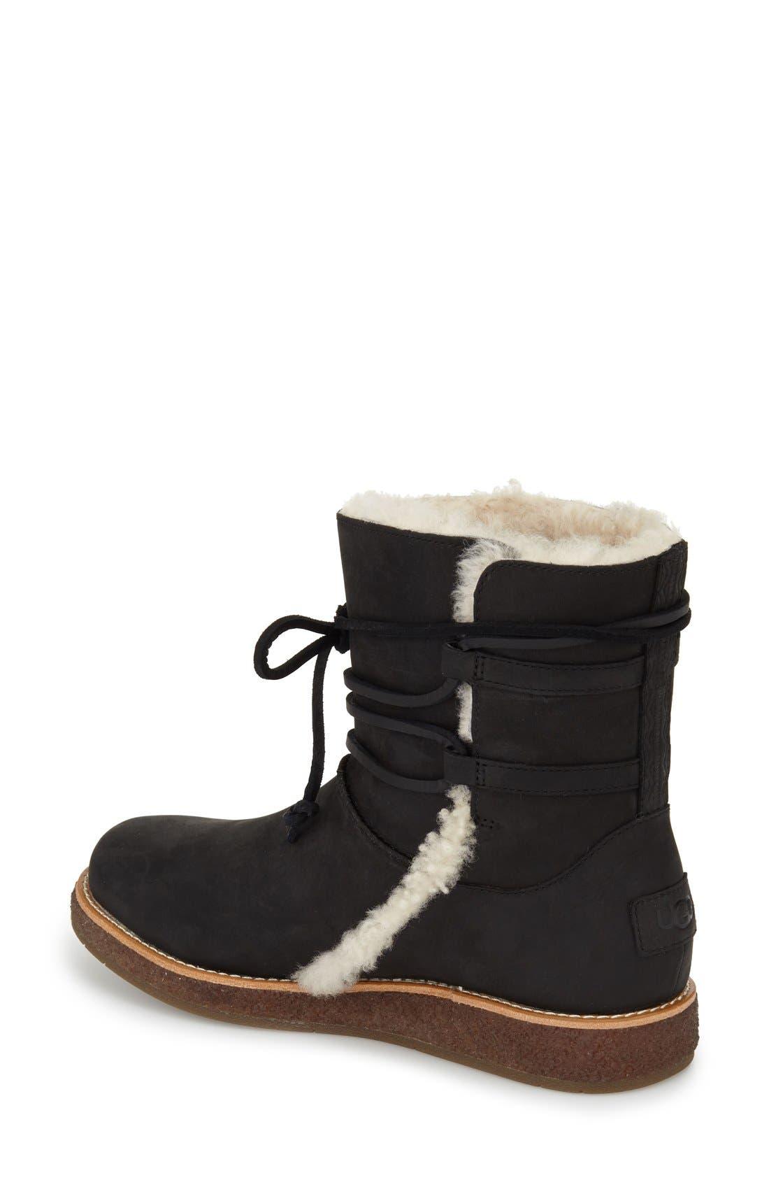 'Luisa' Boot,                             Alternate thumbnail 3, color,                             001