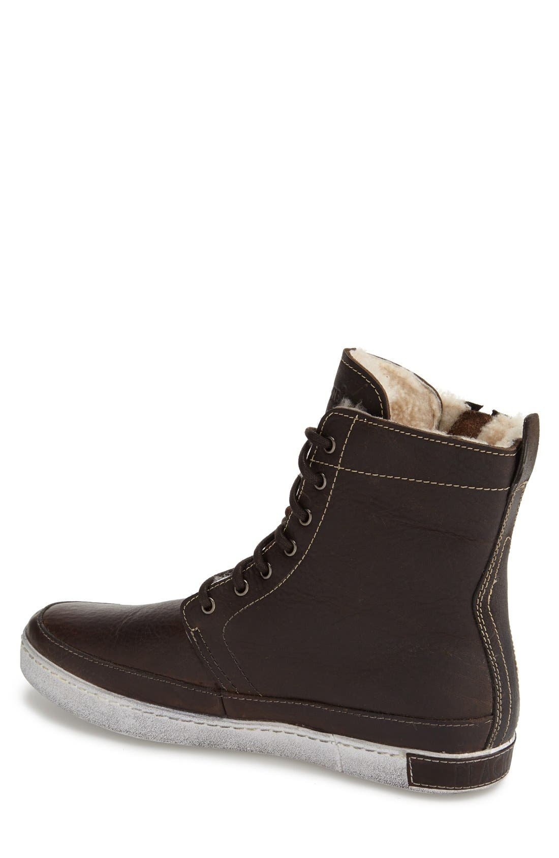 'GM05' High Top Sneaker,                             Alternate thumbnail 2, color,                             PINECONE