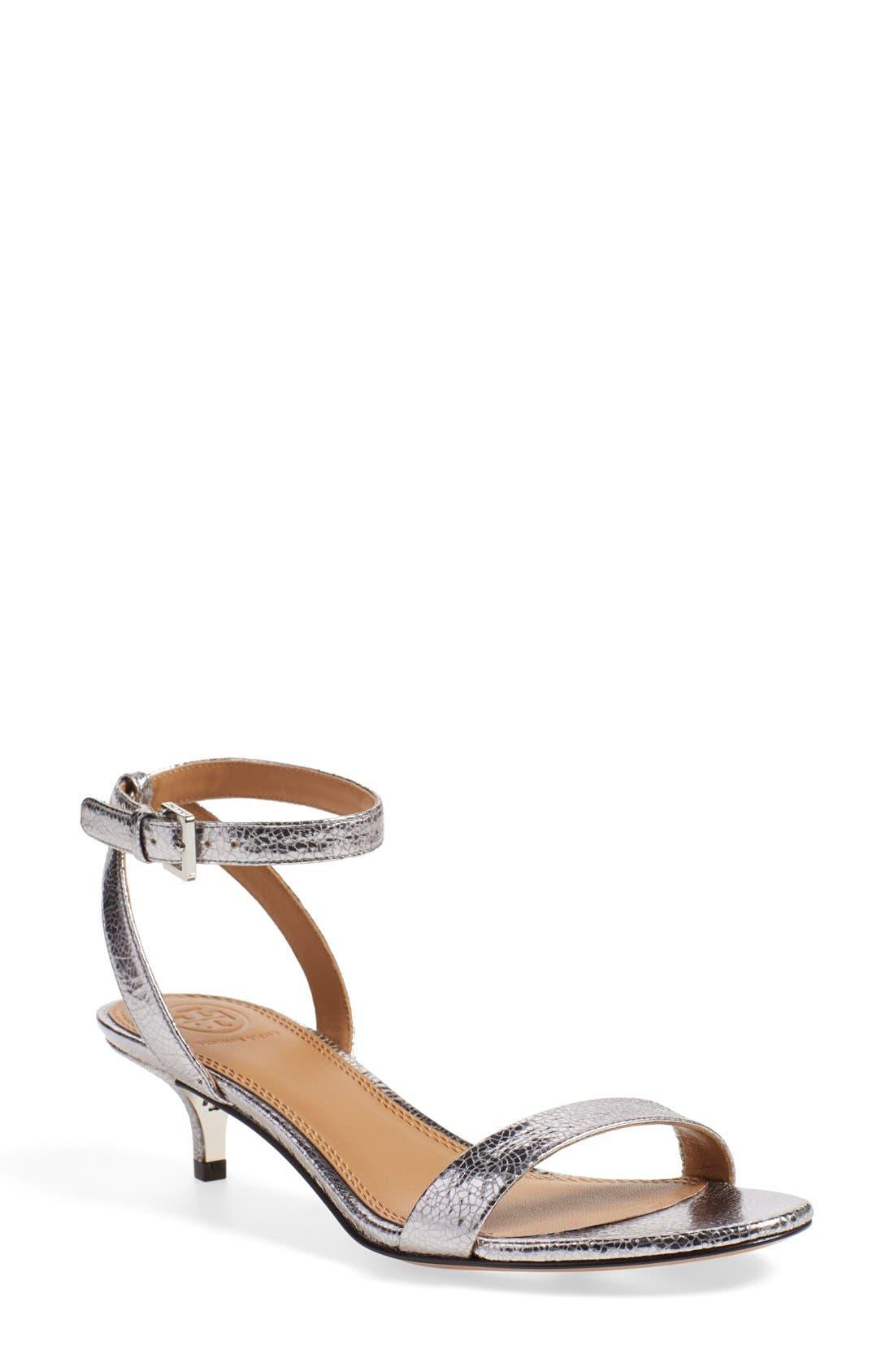 'Elana' Ankle Strap Sandal,                             Main thumbnail 1, color,                             043