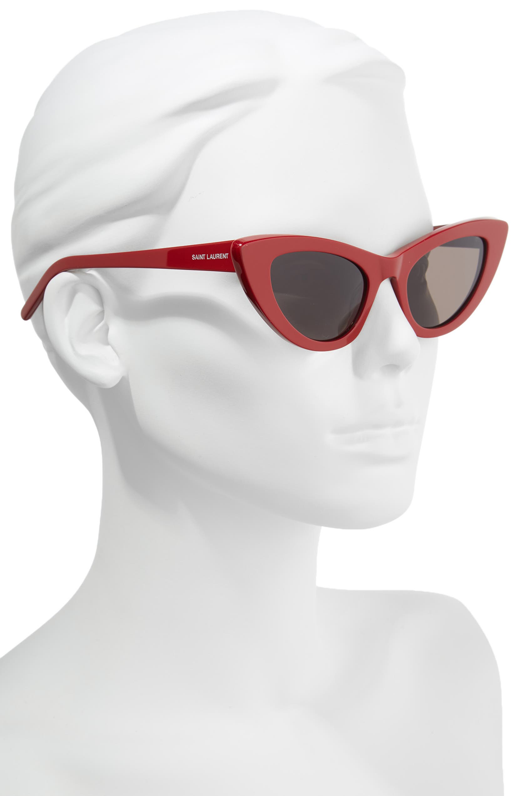 d0798feb05 Saint Laurent Lily 52mm Cat Eye Sunglasses