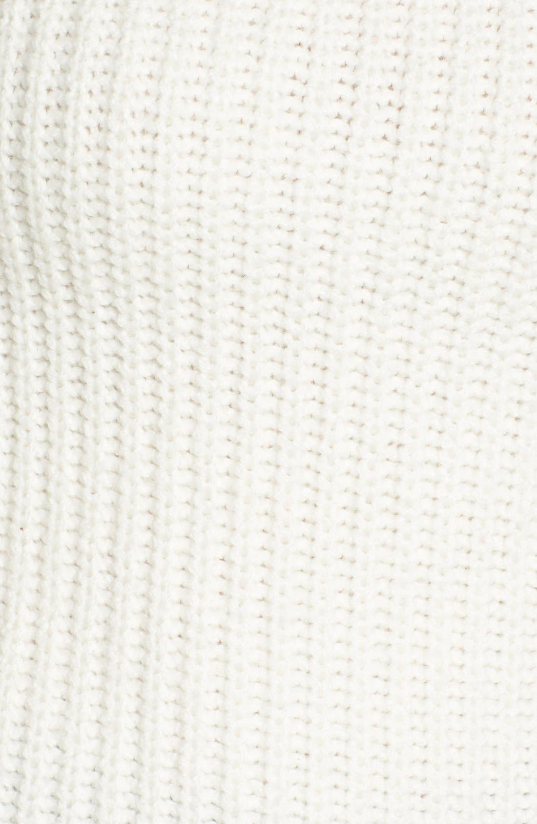Mock Neck Sweater,                             Alternate thumbnail 6, color,                             900