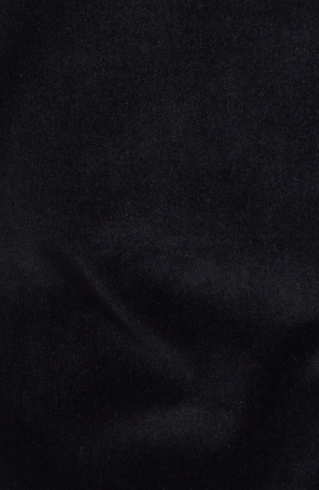 JOHN VARVATOS STAR USA,                             Black Velvet Blazer,                             Alternate thumbnail 2, color,                             001