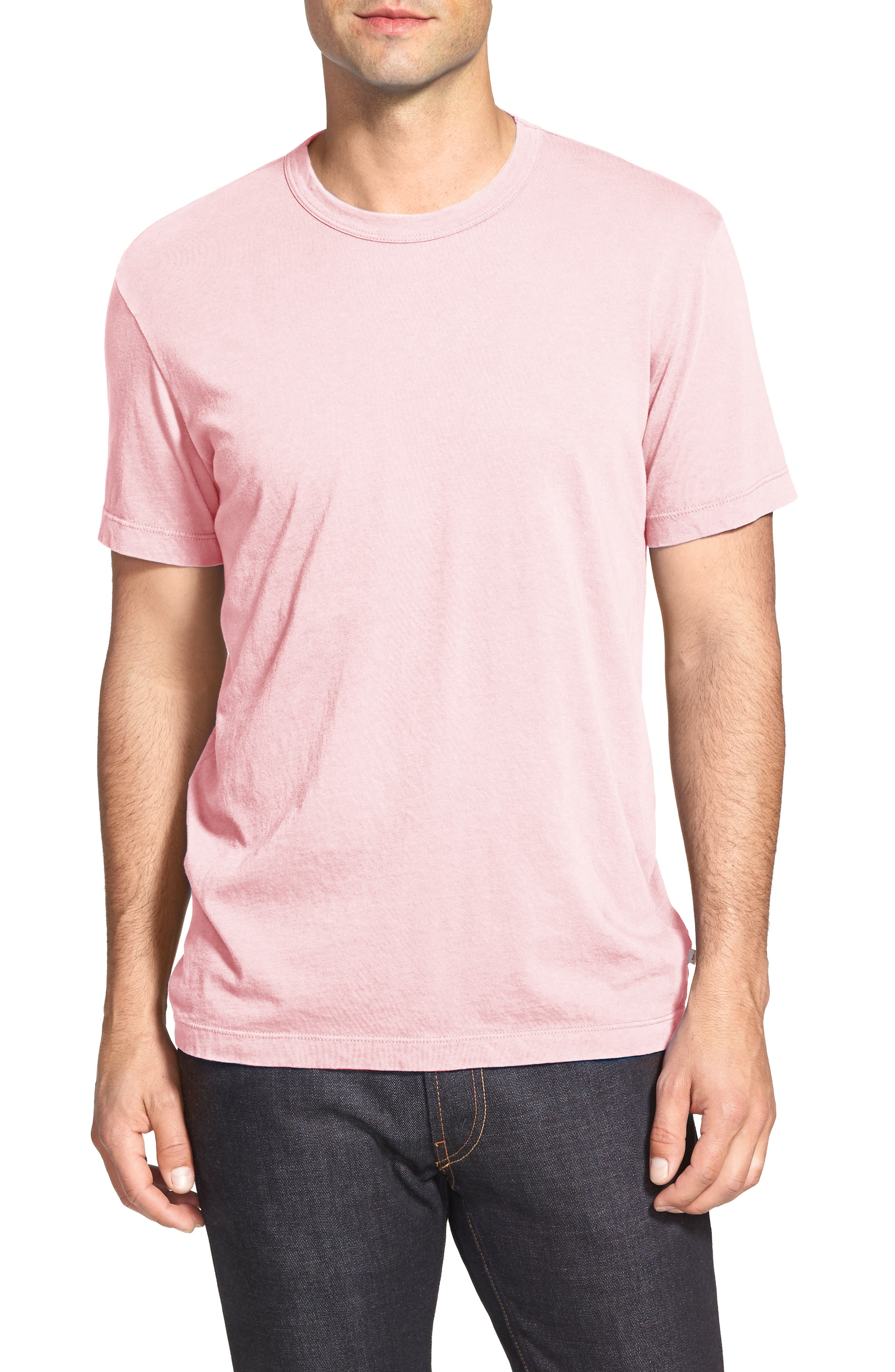 Crewneck Jersey T-Shirt,                             Alternate thumbnail 215, color,