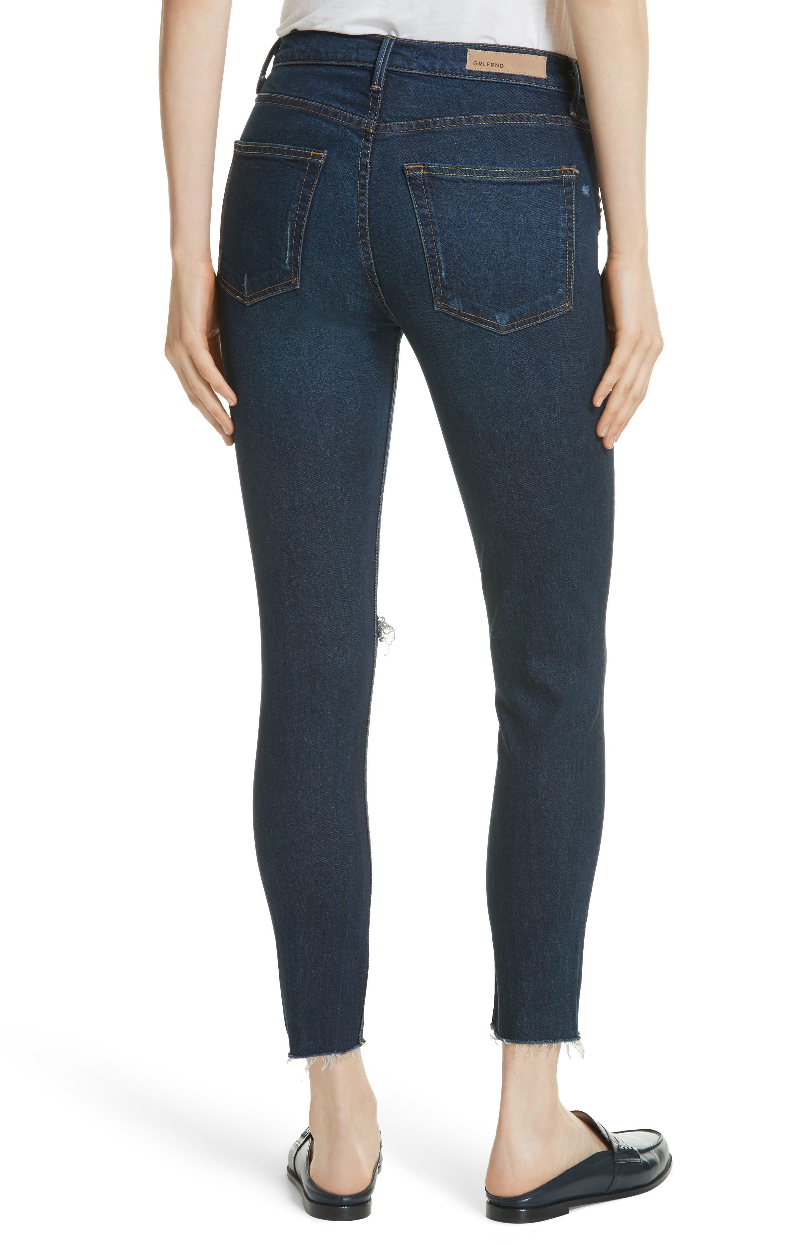 Kendall Super Stretch High Waist Skinny Jeans,                             Alternate thumbnail 2, color,                             478