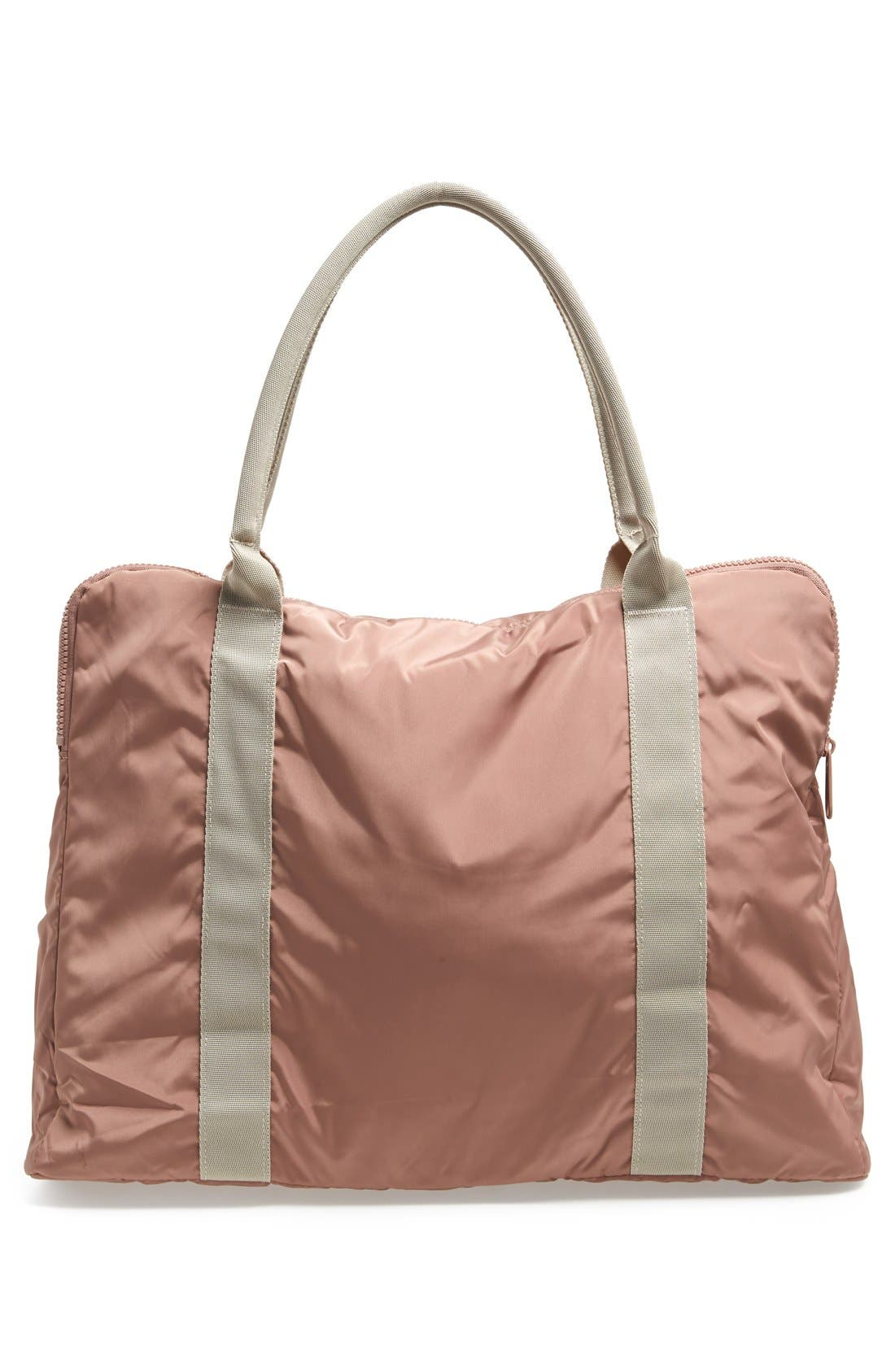 ADIDAS BY STELLA MCCARTNEY,                             Quilted Yoga Bag,                             Alternate thumbnail 4, color,                             250