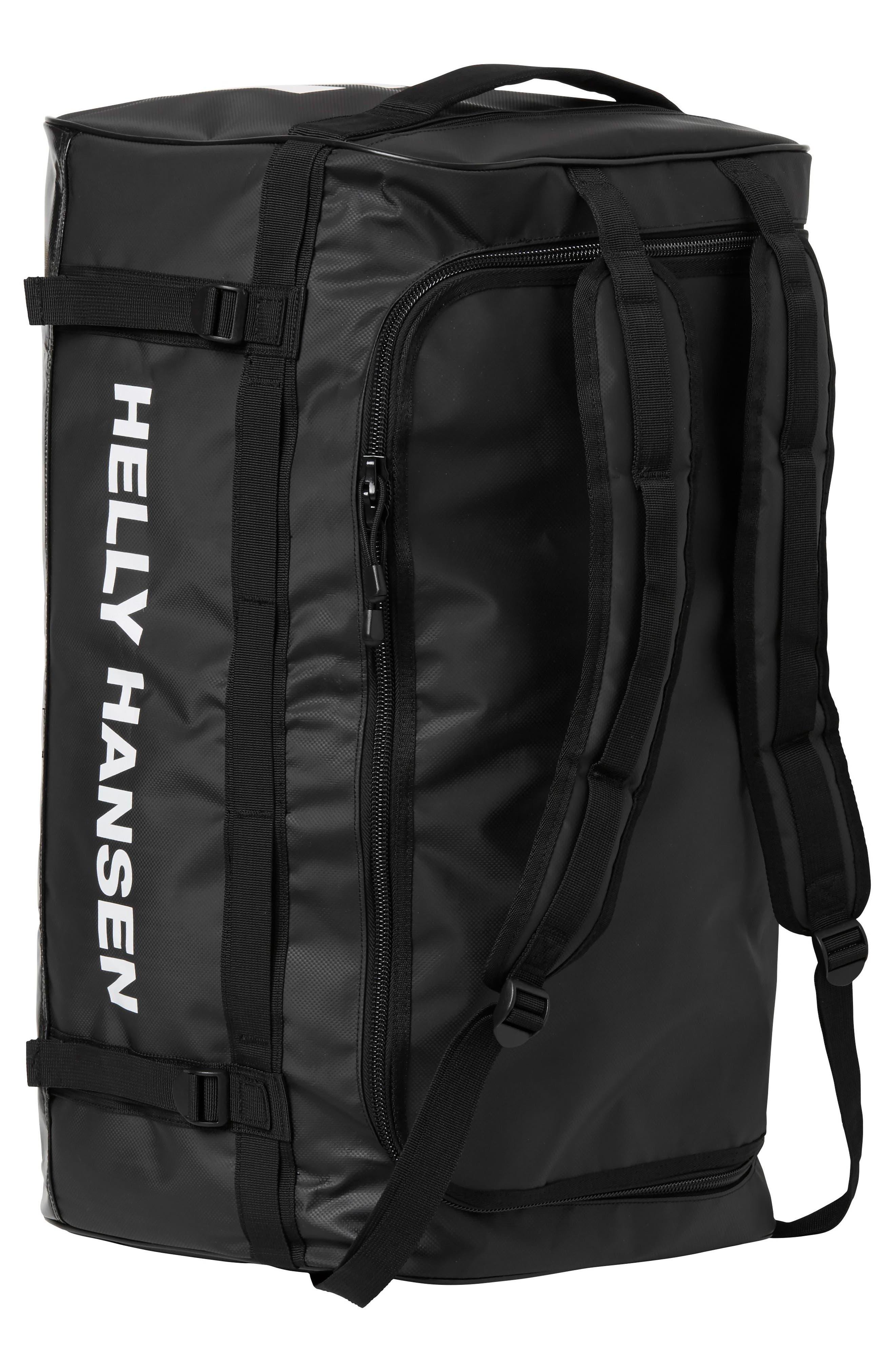 New Classic Small Duffel Bag,                             Alternate thumbnail 4, color,                             BLACK