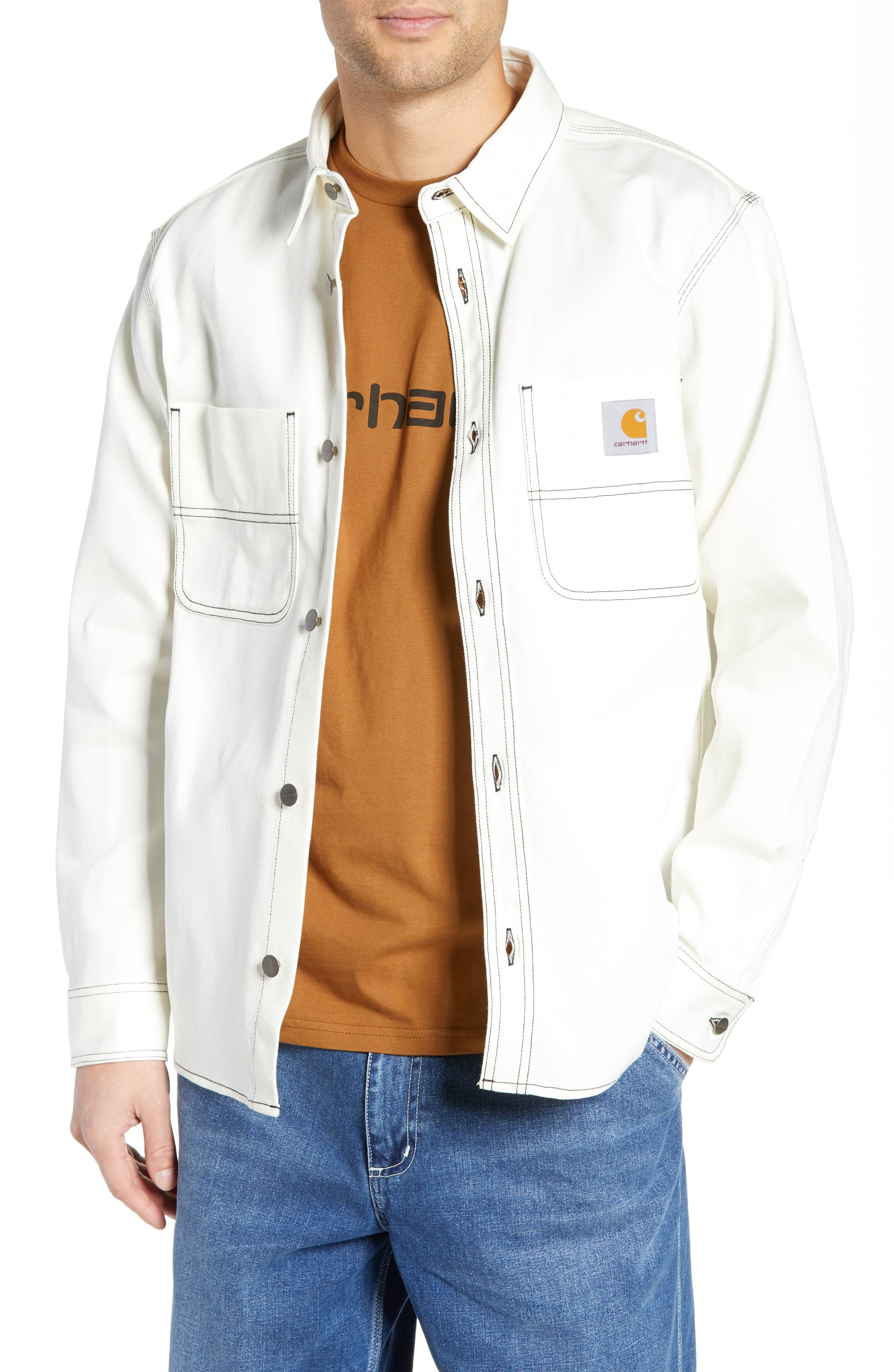 Shirt Jacket,                             Main thumbnail 1, color,                             WAX