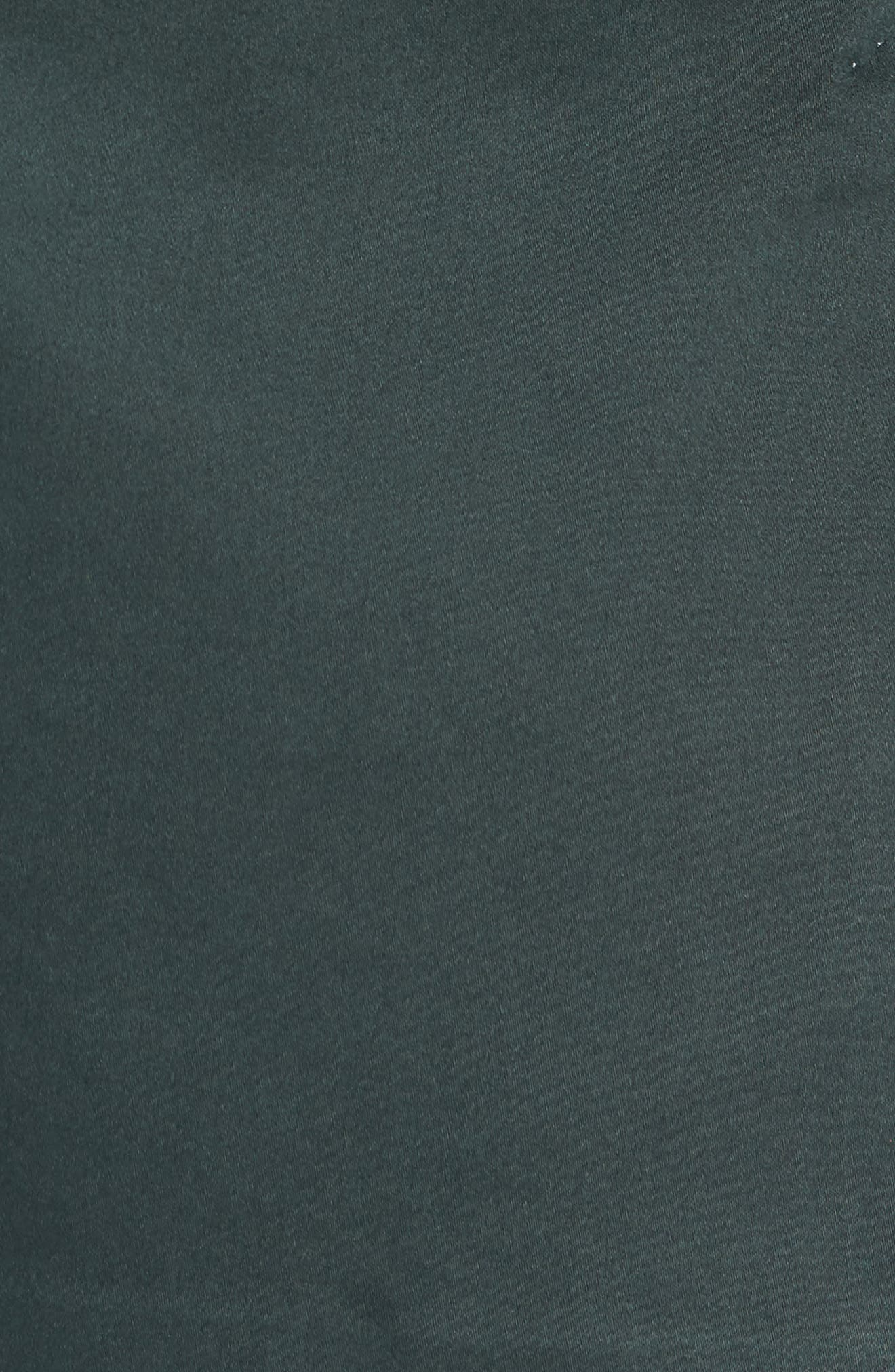 Trim Fit Stretch Cotton Blazer,                             Alternate thumbnail 6, color,                             GREEN
