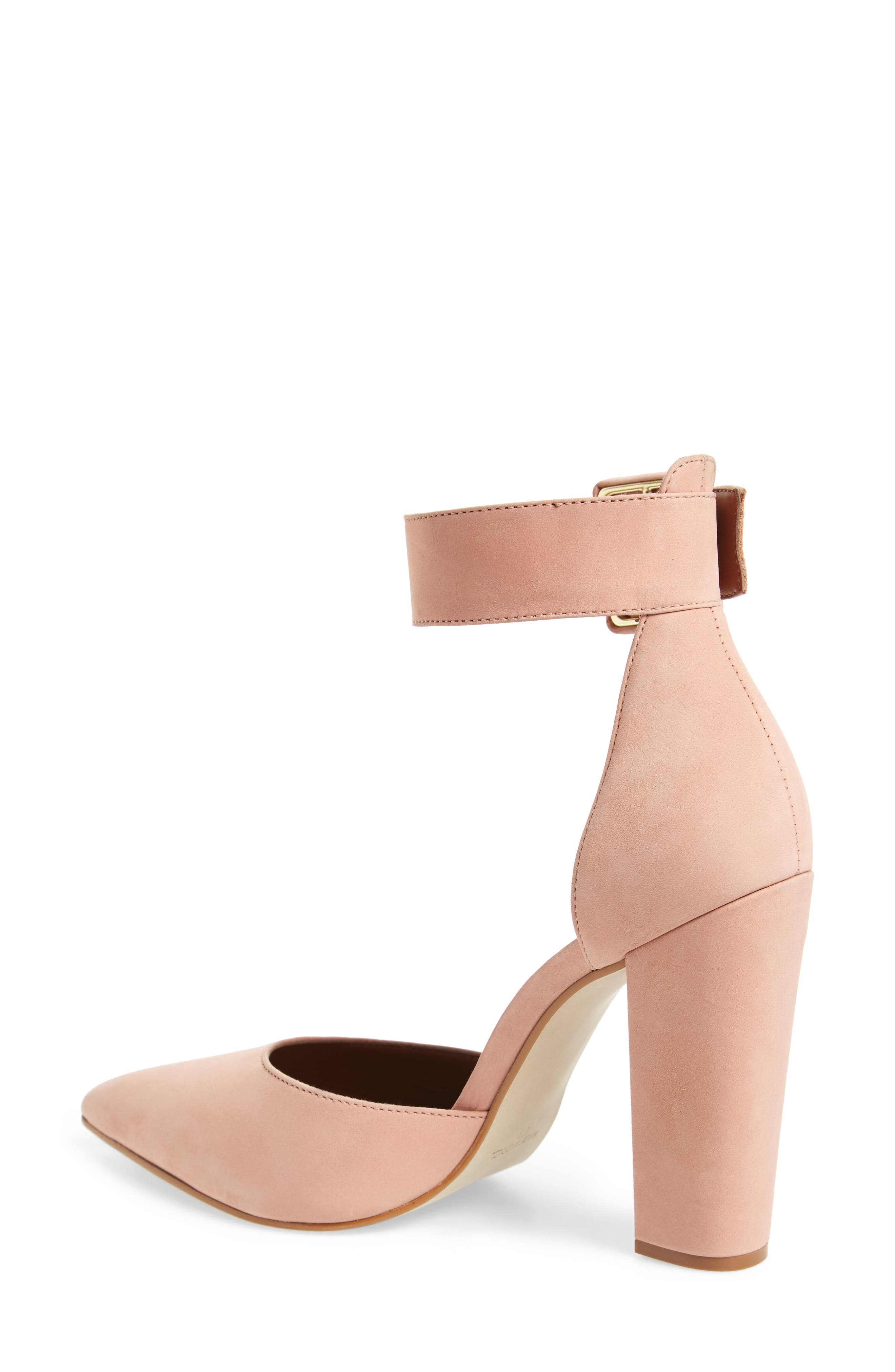 Posted Ankle Strap Pump,                             Alternate thumbnail 6, color,