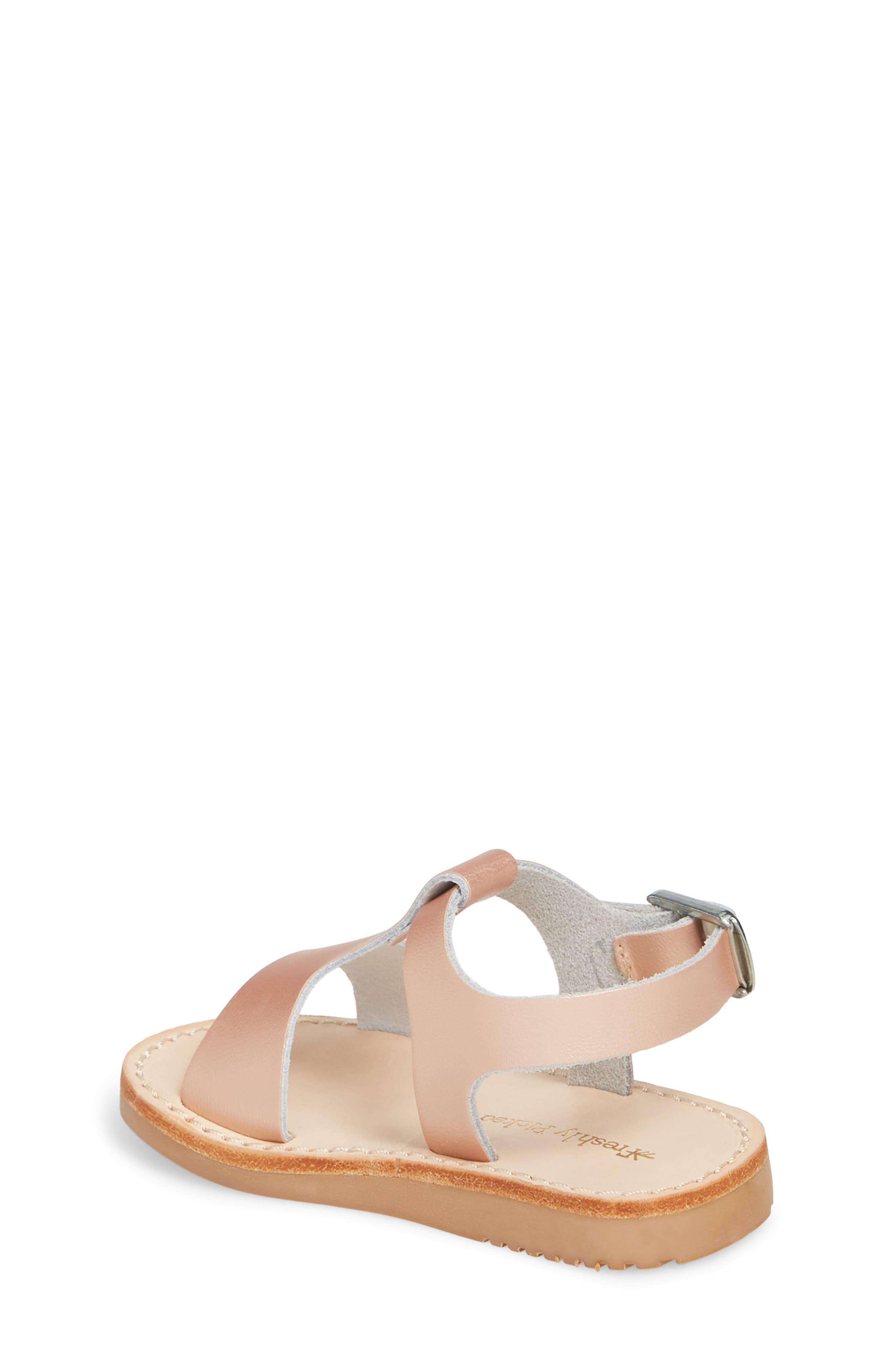 Malibu Water Resistant Sandal,                             Alternate thumbnail 2, color,                             ROSE GOLD