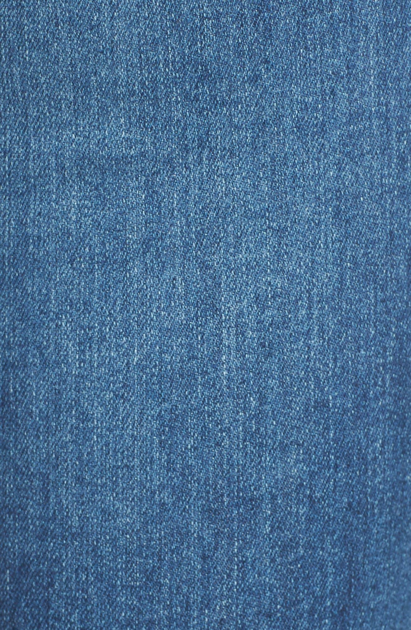 The Legging Step Hem Ankle Skinny Jeans,                             Alternate thumbnail 5, color,                             462
