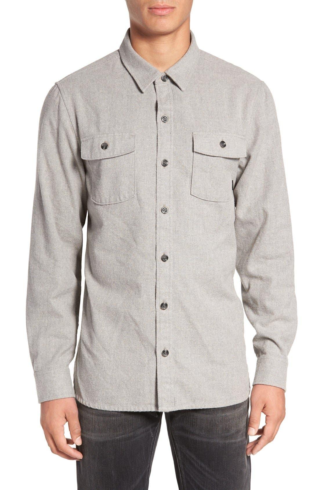 'Amazing' Flannel Shirt,                             Alternate thumbnail 4, color,                             050