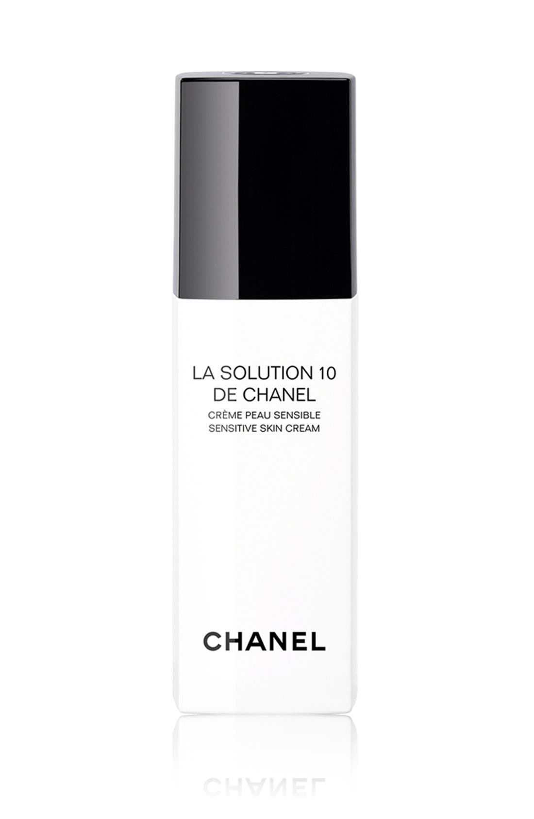LA SOLUTION 10 DE CHANEL<br />Sensitive Skin Cream,                             Main thumbnail 1, color,                             NO COLOR