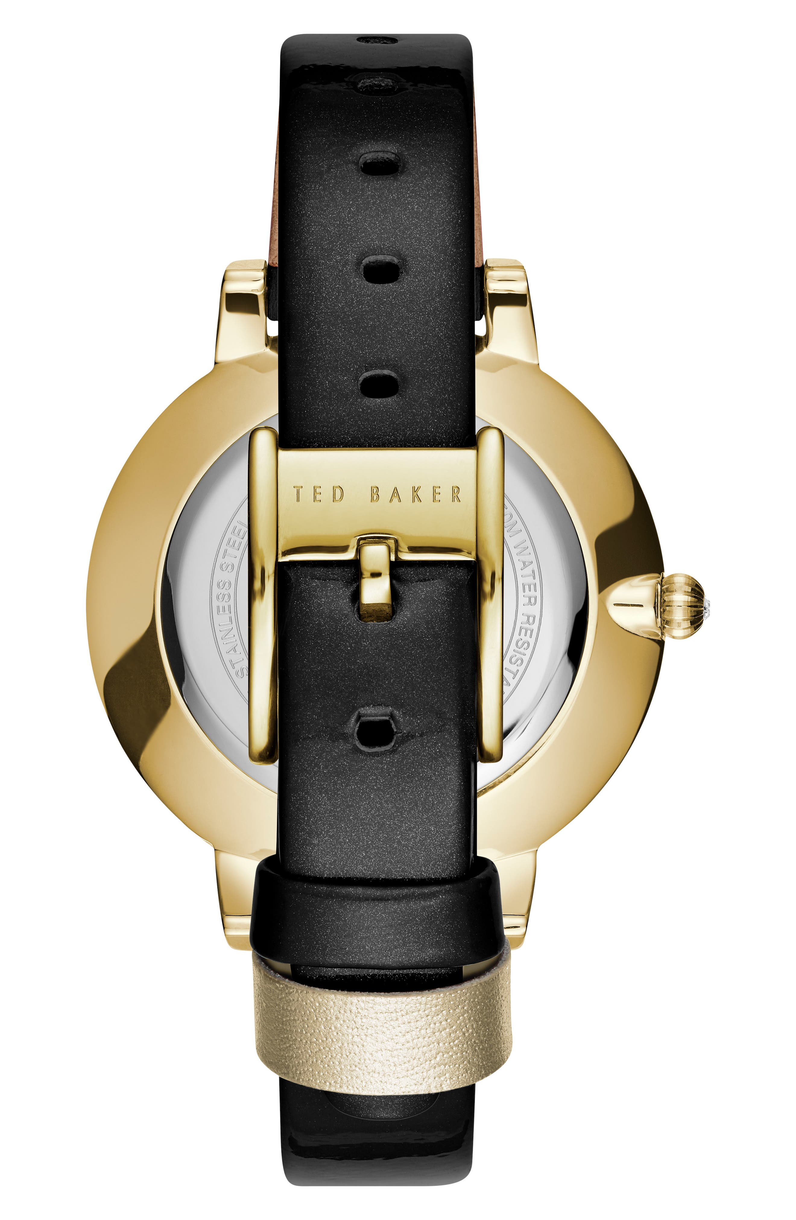 Brook Leather Strap Watch, 36mm,                             Alternate thumbnail 2, color,                             001