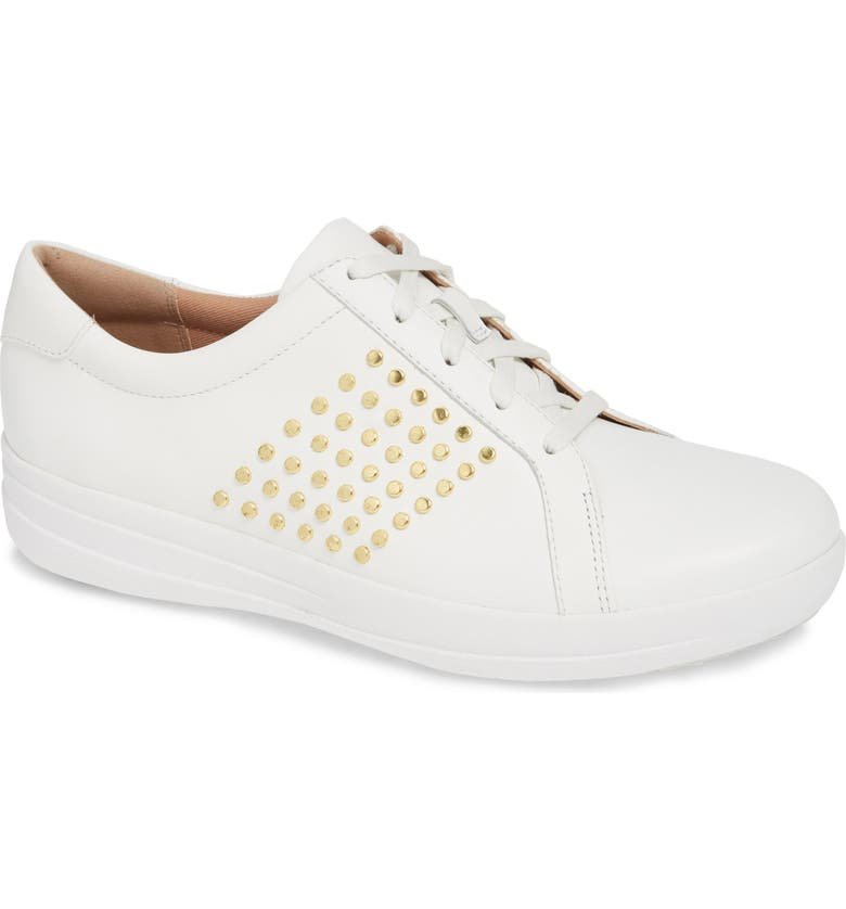 529d28a9e588fa Fitflop F-Sporty Ii Studded Sneaker In Urban White Leather