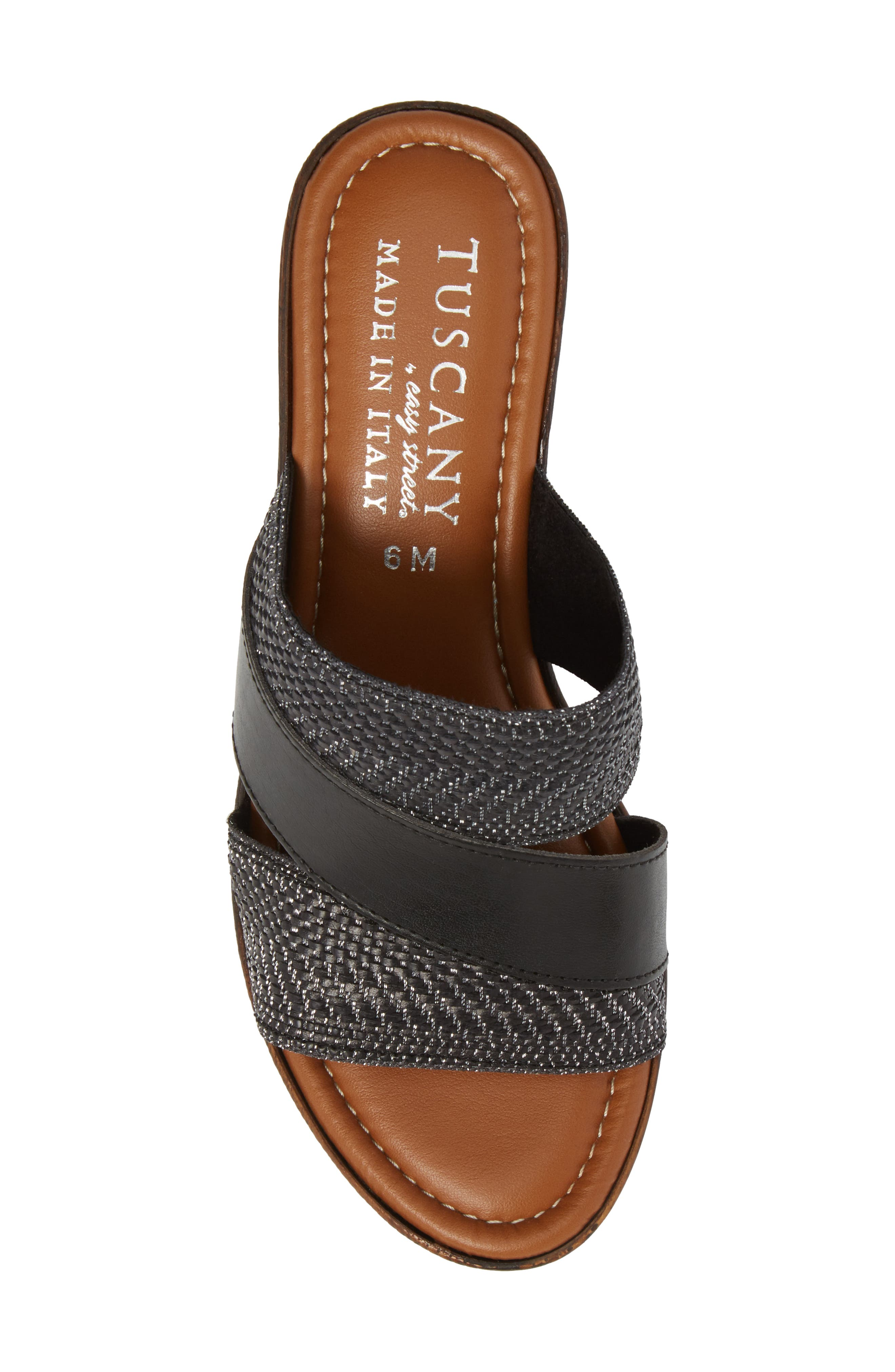 by Easy Street<sup>®</sup> Positano Sandal,                             Alternate thumbnail 5, color,                             001