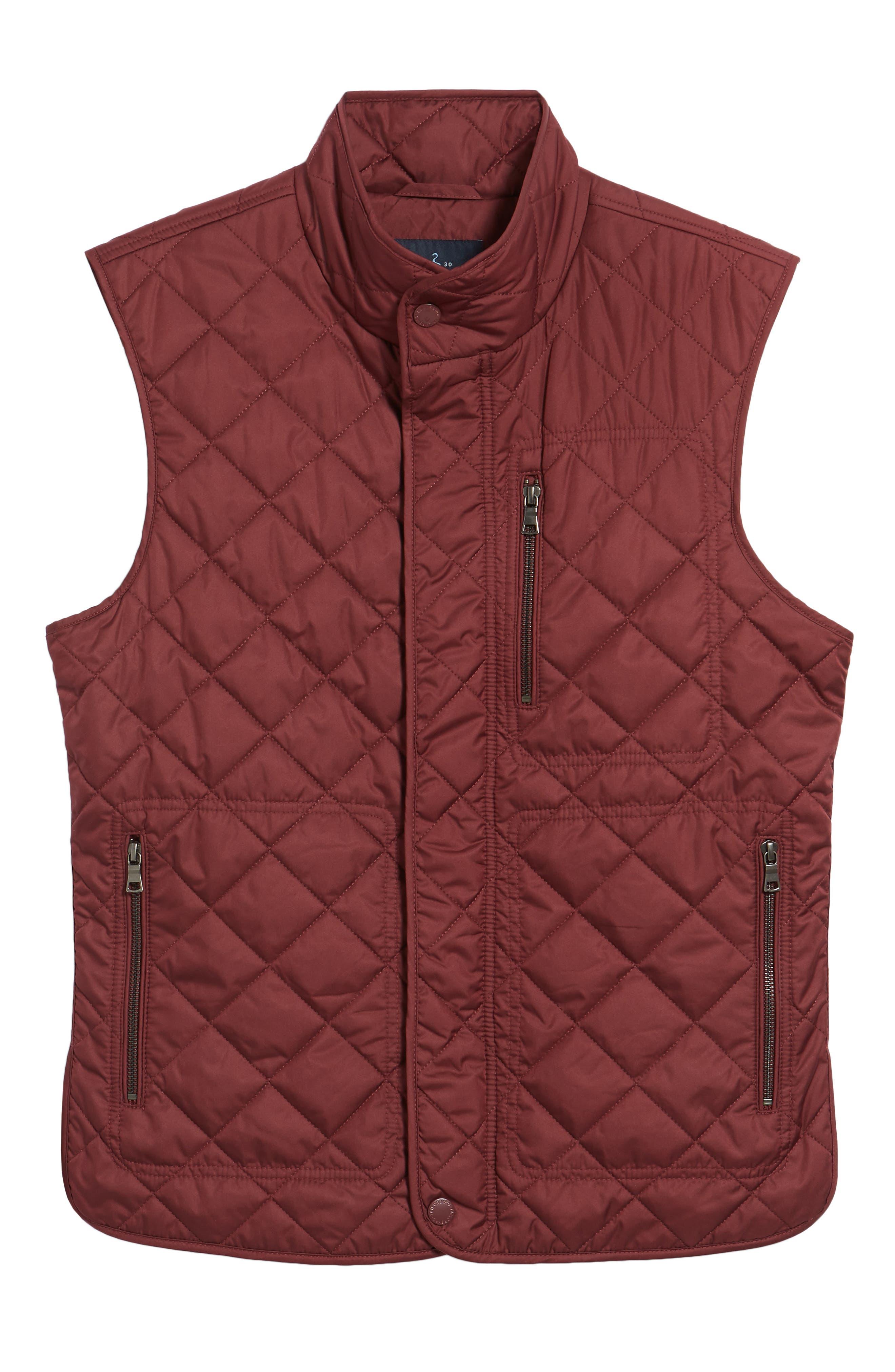Hessmer Quilted Vest,                             Alternate thumbnail 5, color,