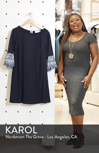 Flare Cuff Shift Dress, sales video thumbnail