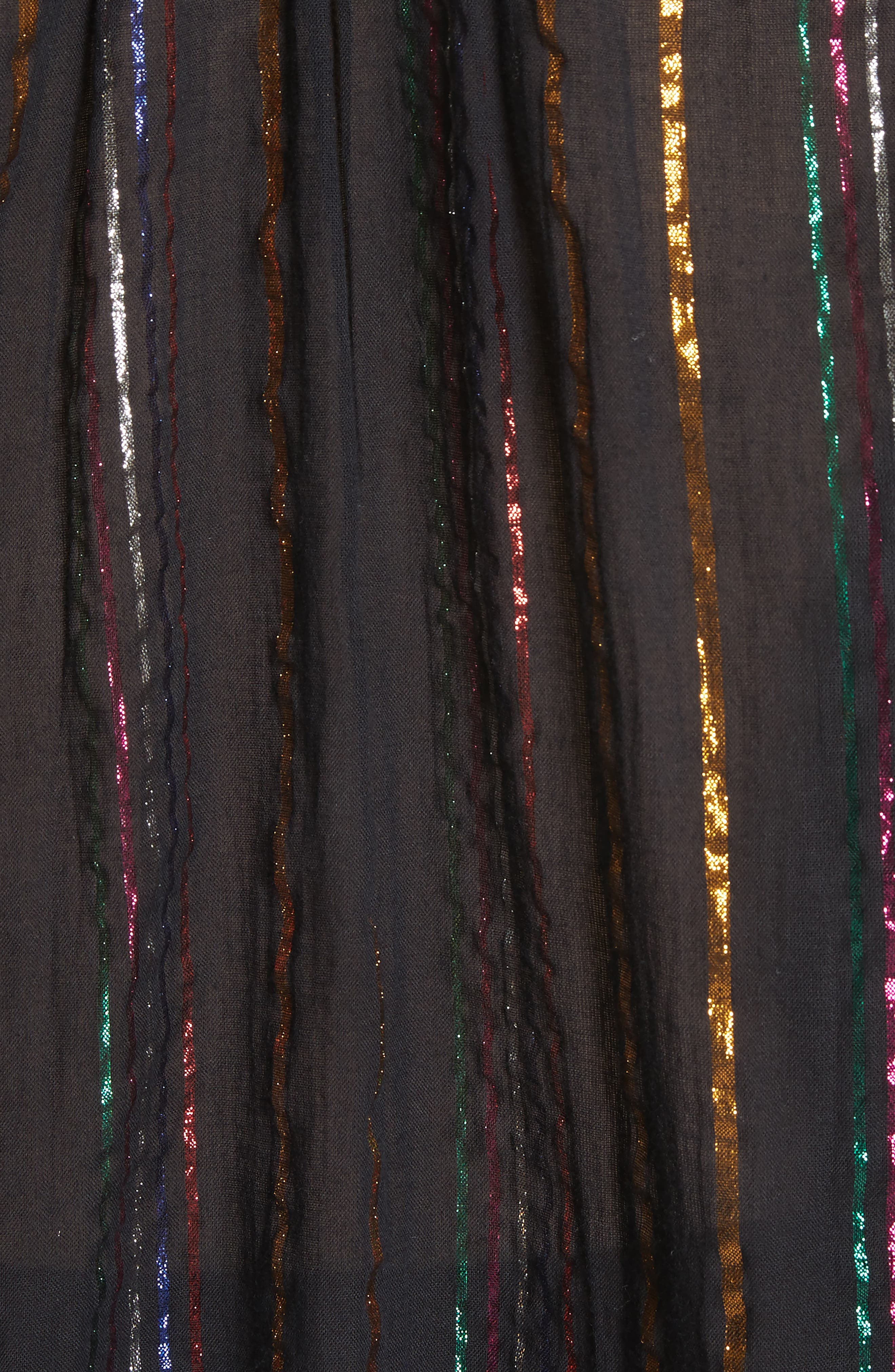 Papyrus Metallic Stripe Top,                             Alternate thumbnail 5, color,