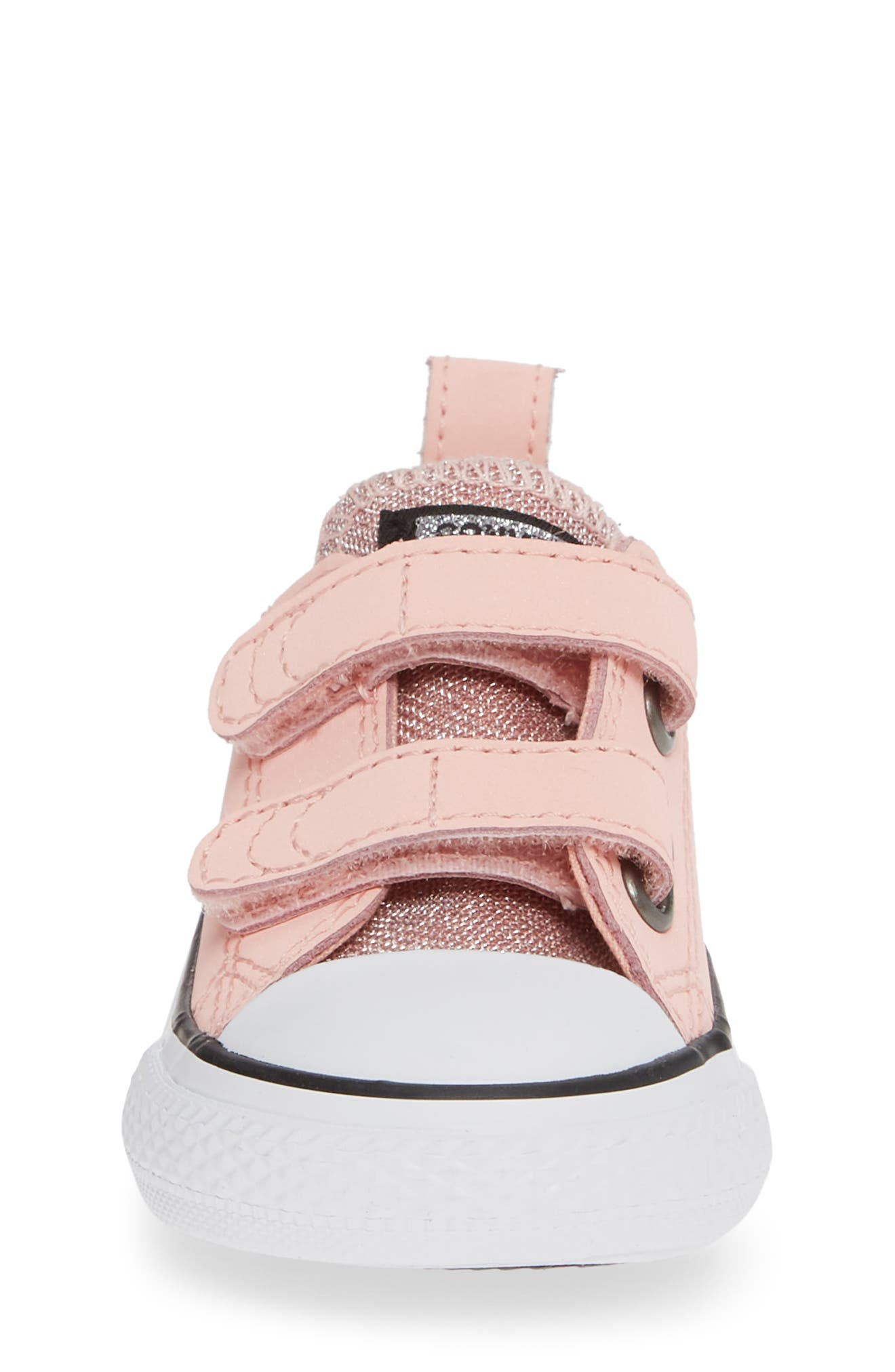 All Star<sup>®</sup> Seasonal Glitter Sneaker,                             Alternate thumbnail 4, color,                             STORM PINK