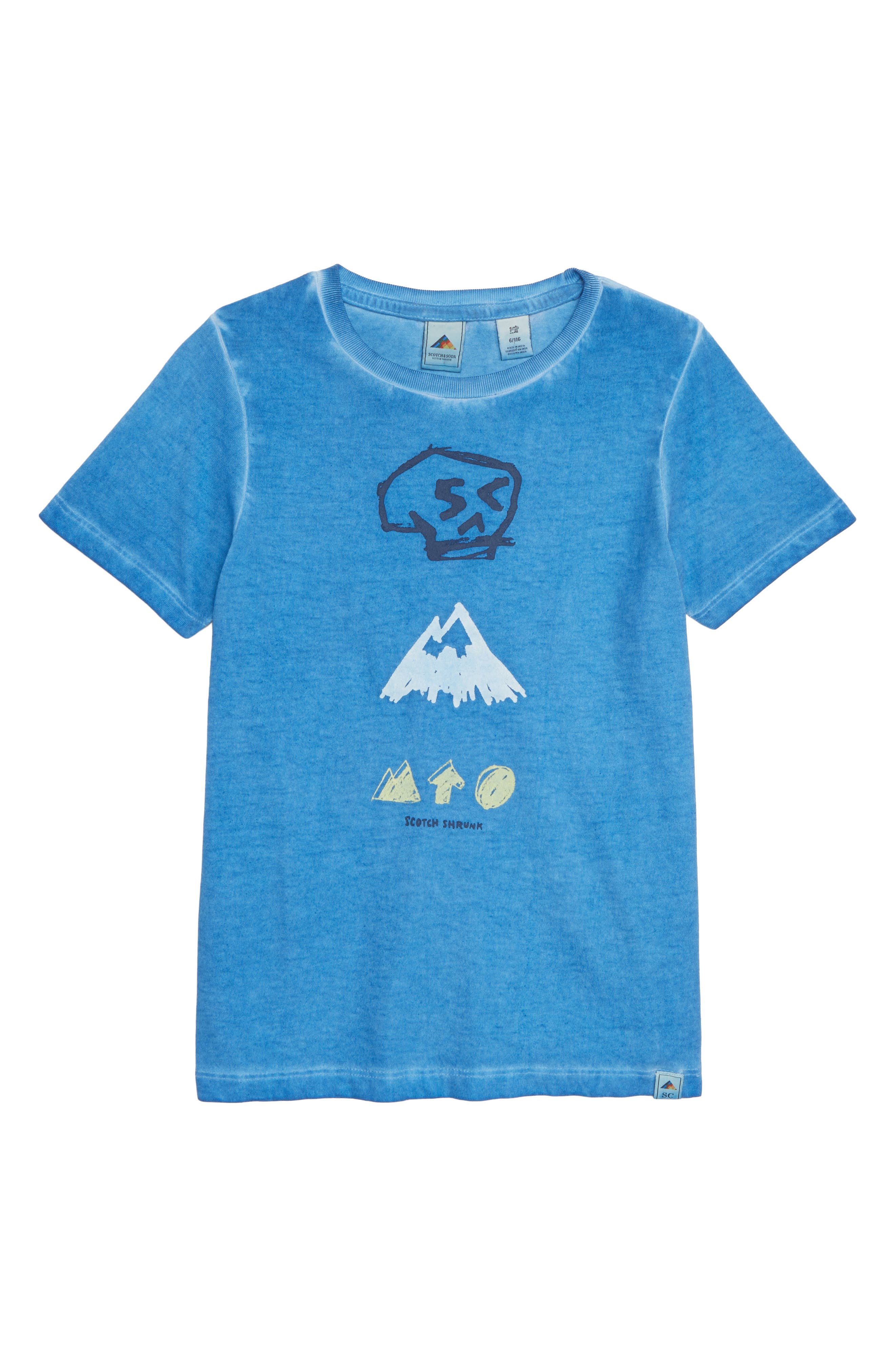 Mountain T-Shirt,                         Main,                         color, ARTIC