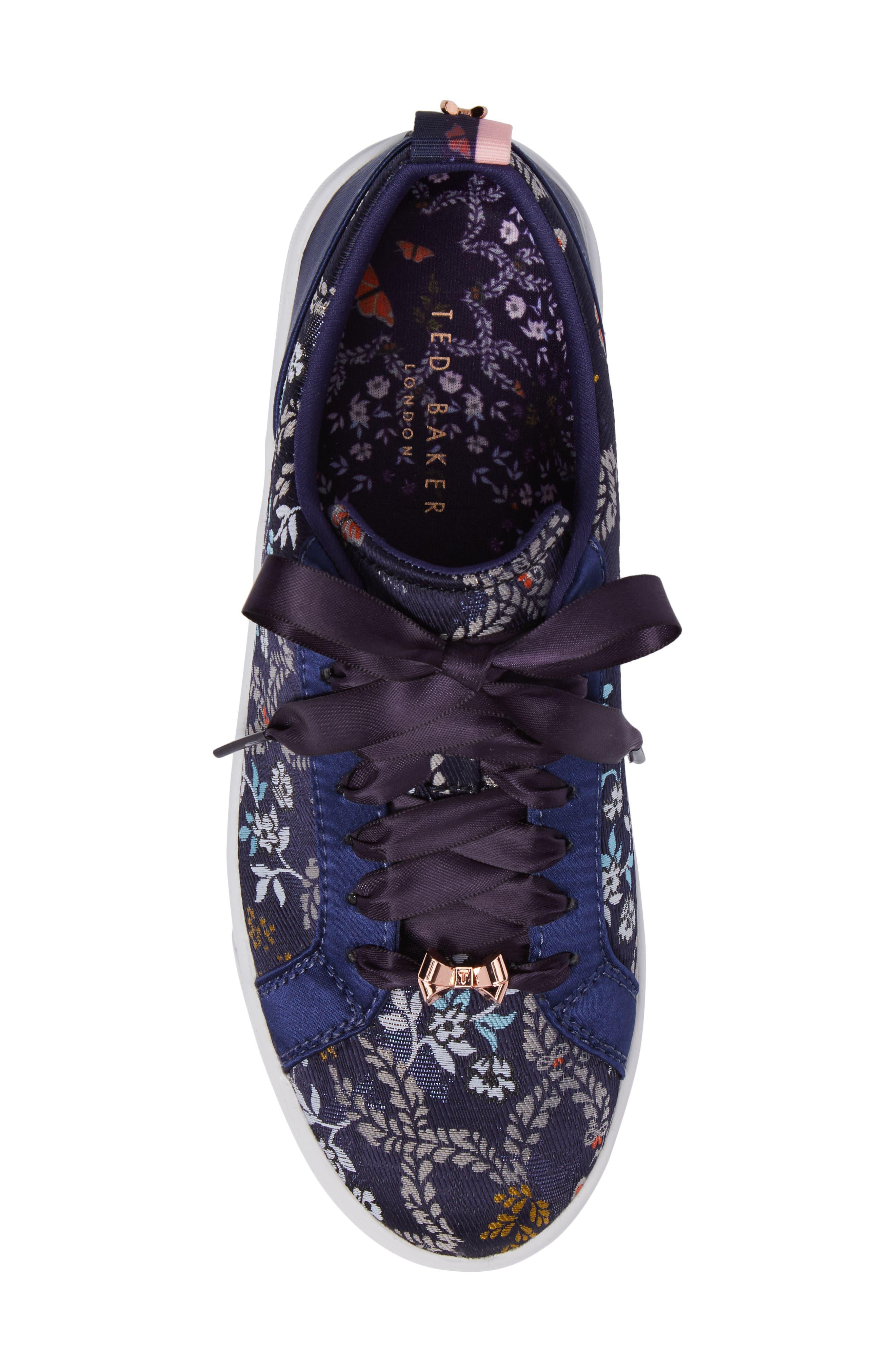 Sorcey Platform Sneaker,                             Alternate thumbnail 5, color,                             409