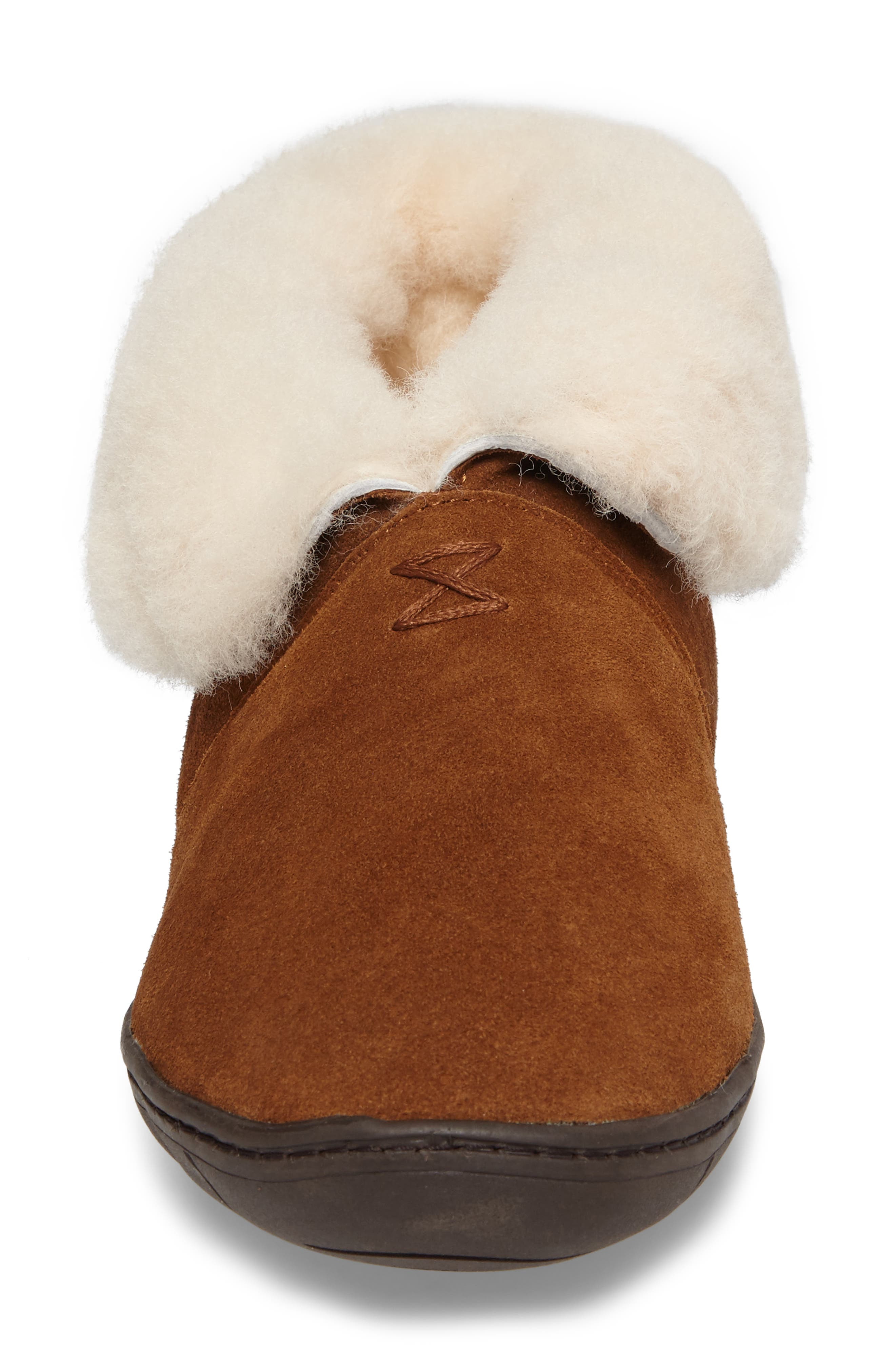 Tundra Slipper Bootie with Genuine Shearling Lining,                             Alternate thumbnail 4, color,                             212