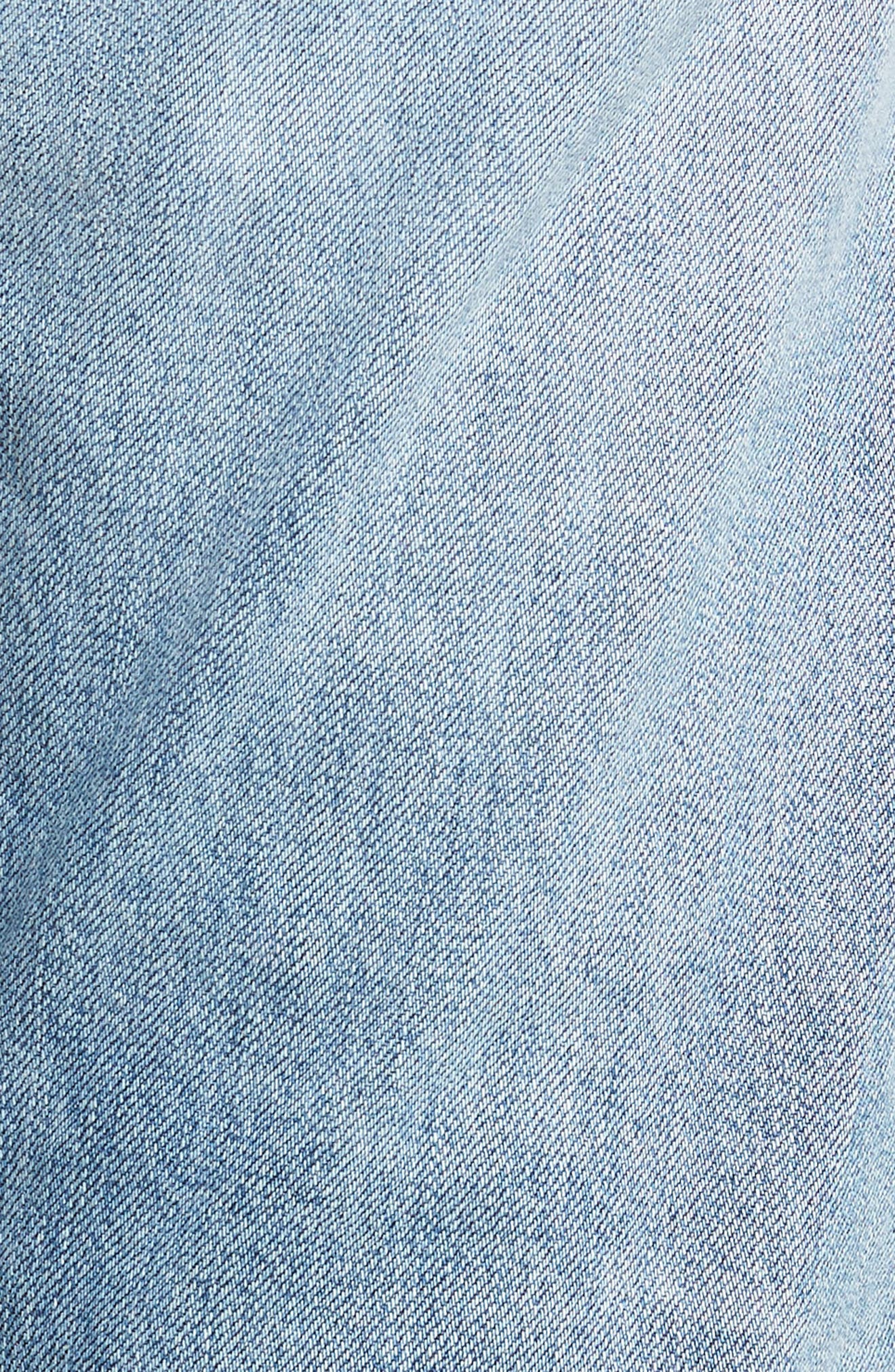 Emerson Slim Fit Boyfriend Jeans,                             Alternate thumbnail 6, color,                             SUNDAY MORNING