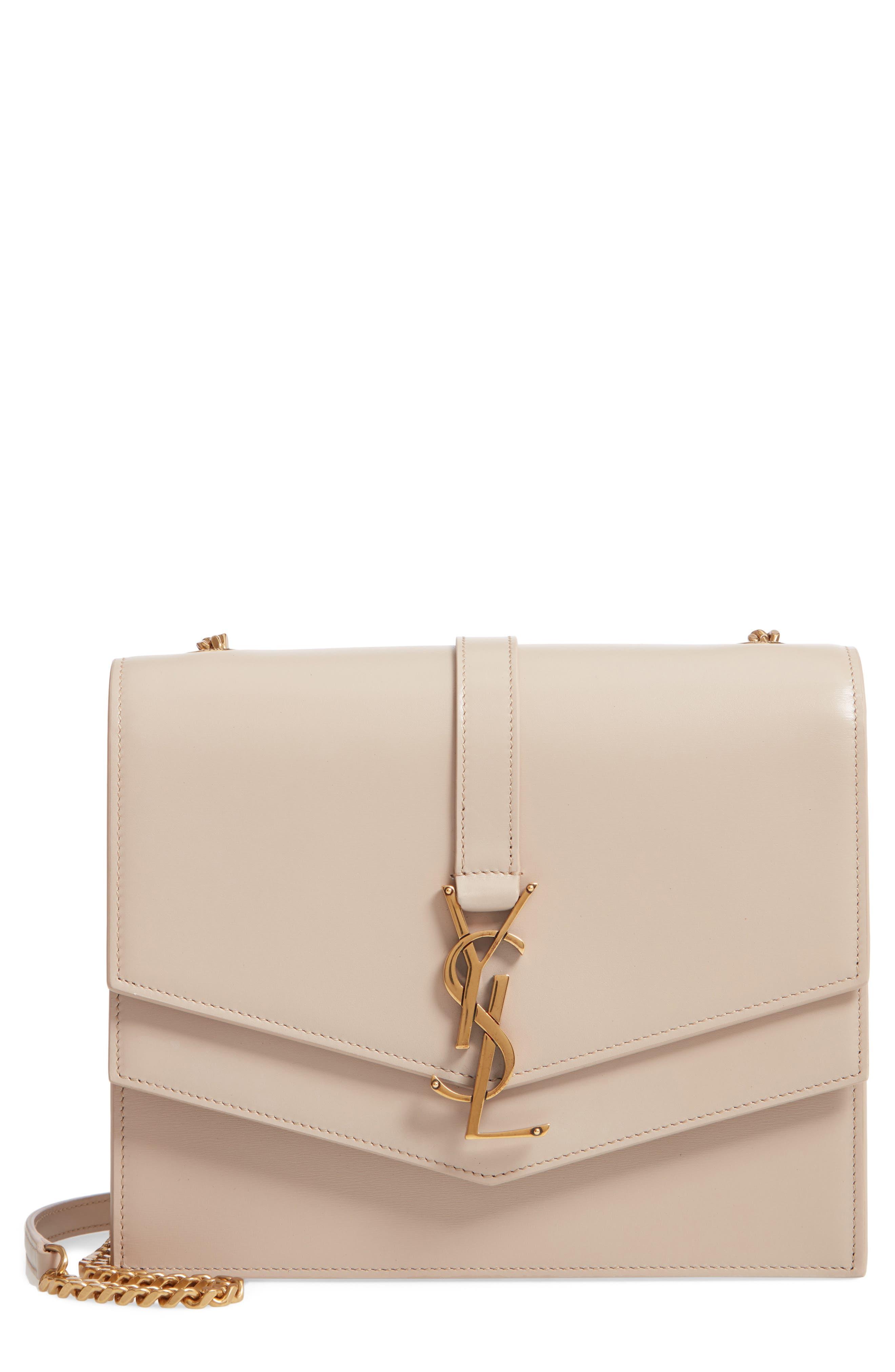 Sulpice Leather Shoulder Bag,                         Main,                         color, LIGHT NATURAL
