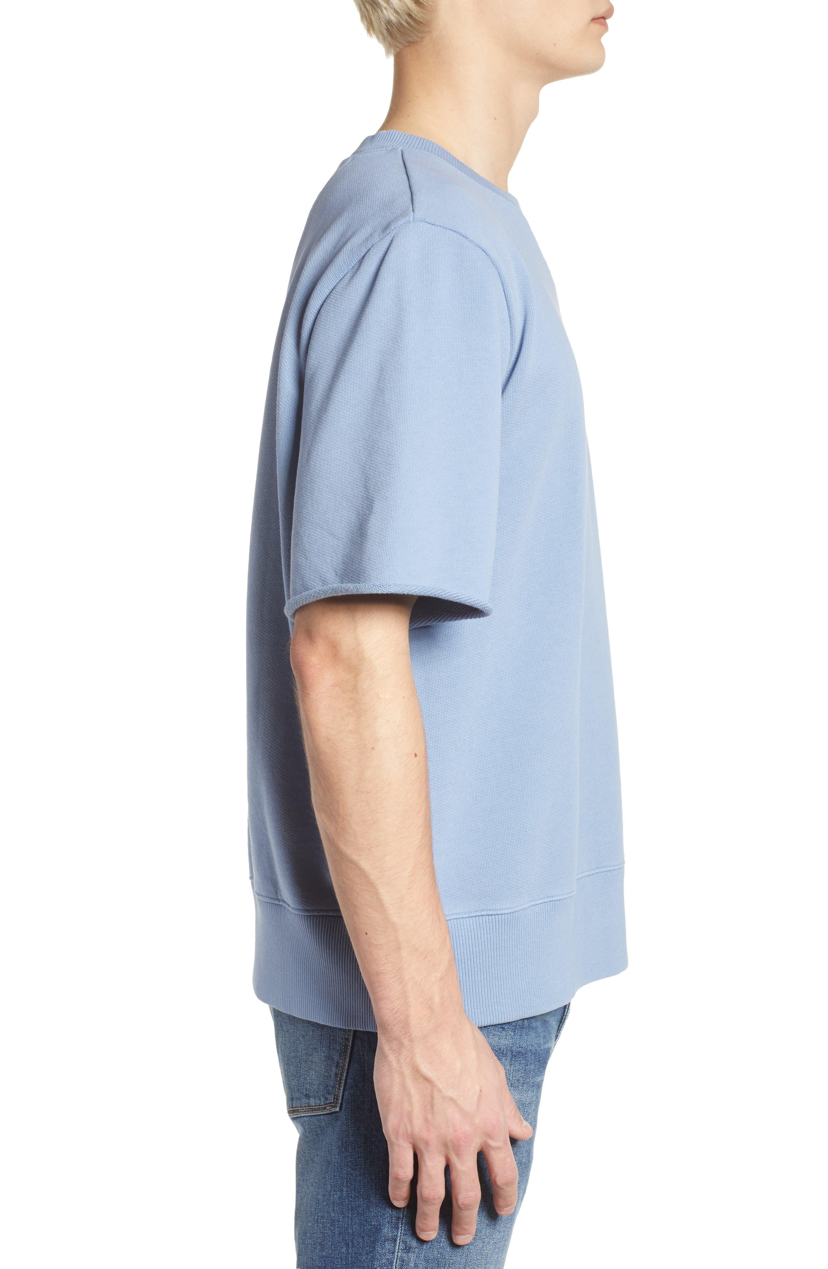 Cotton Terry Sweatshirt,                             Alternate thumbnail 5, color,